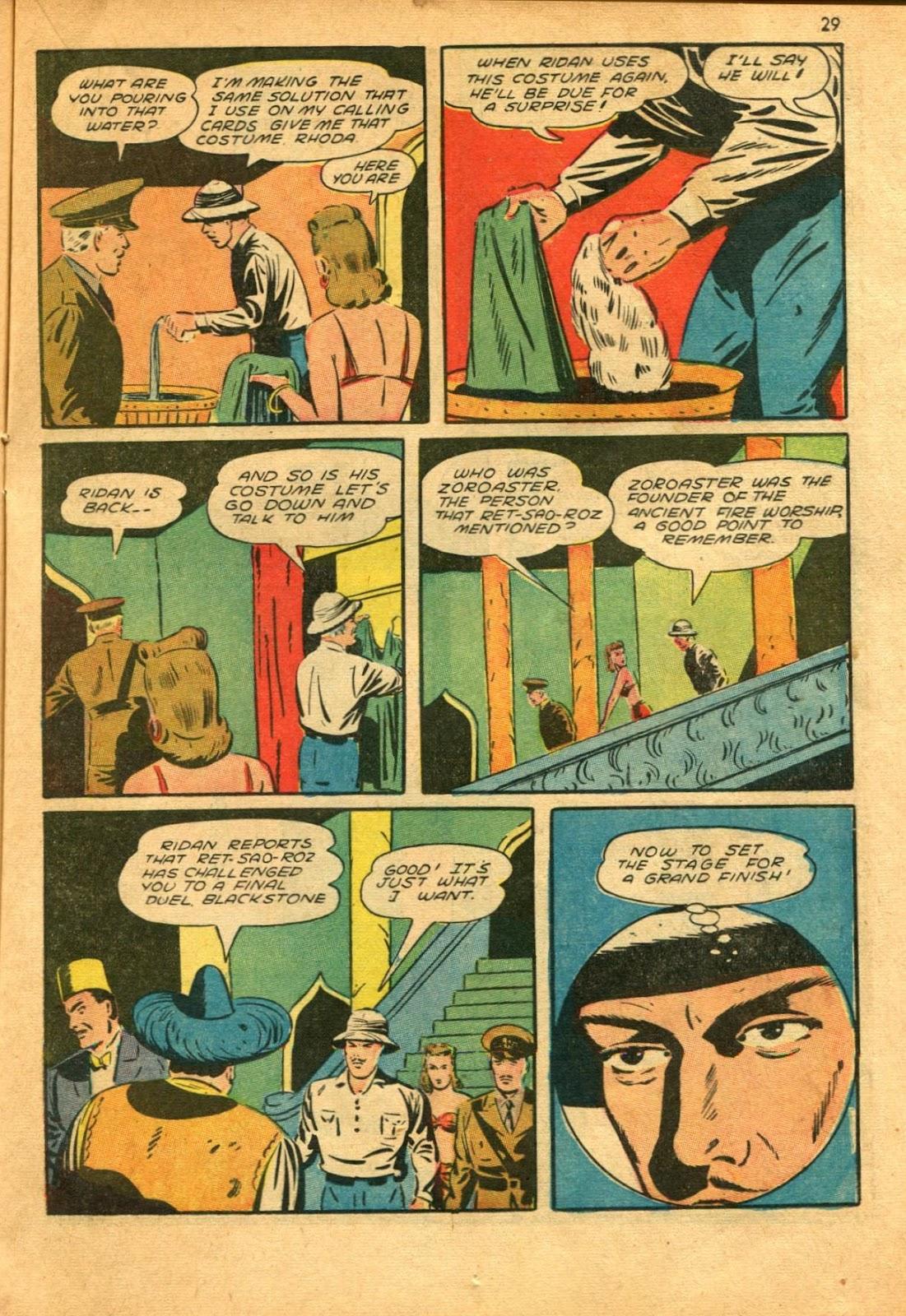 Read online Super-Magician Comics comic -  Issue #11 - 29