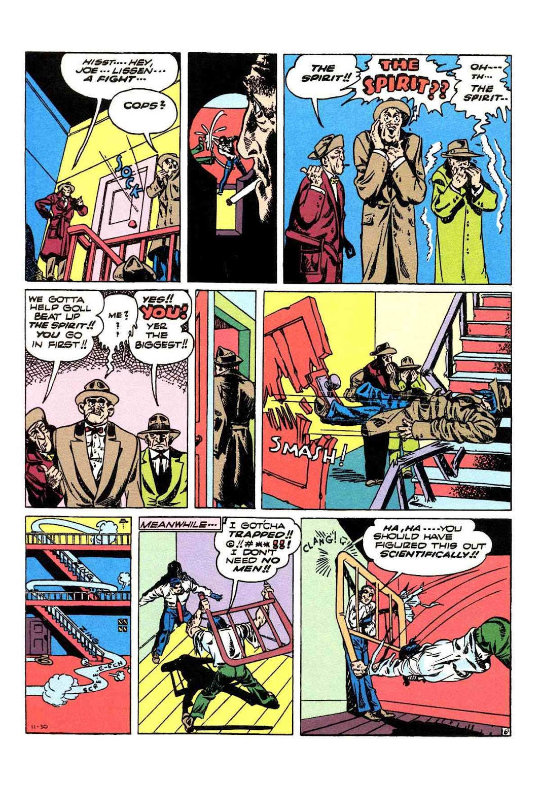 Read online Will Eisner's The Spirit Archives comic -  Issue # TPB 3 (Part 2) - 75