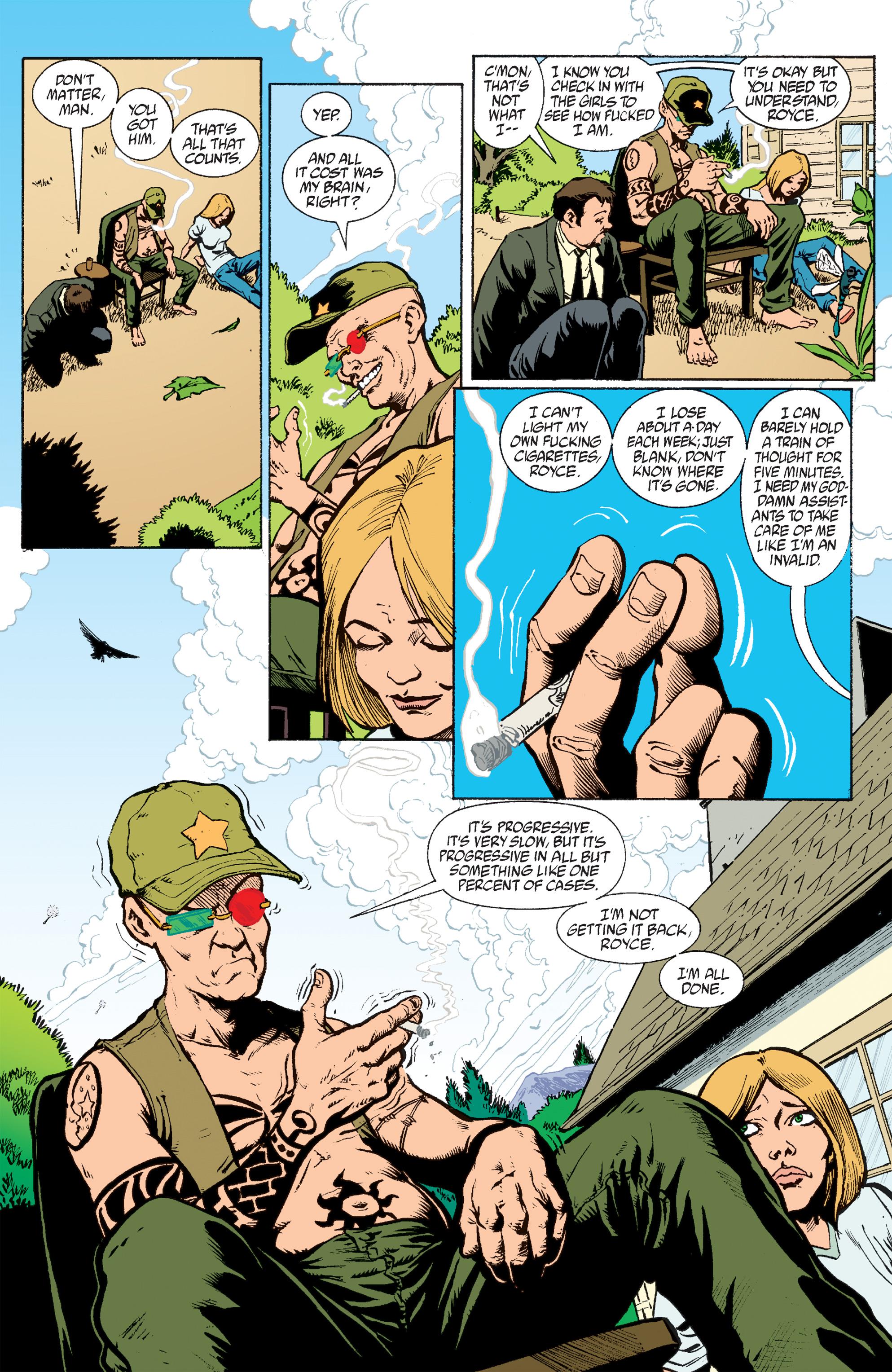 Read online Transmetropolitan comic -  Issue #60 - 16