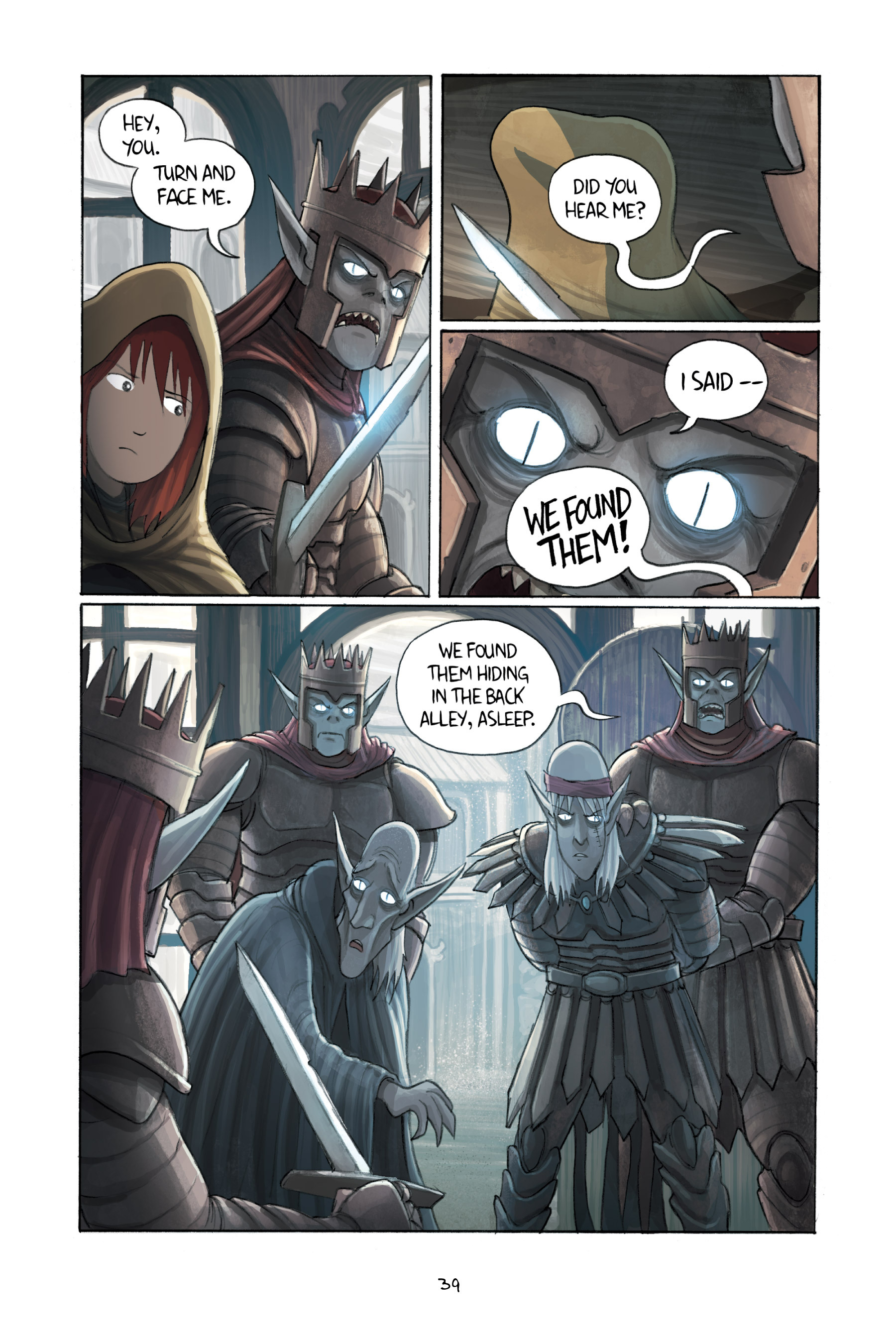 Read online Amulet comic -  Issue #3 - 38
