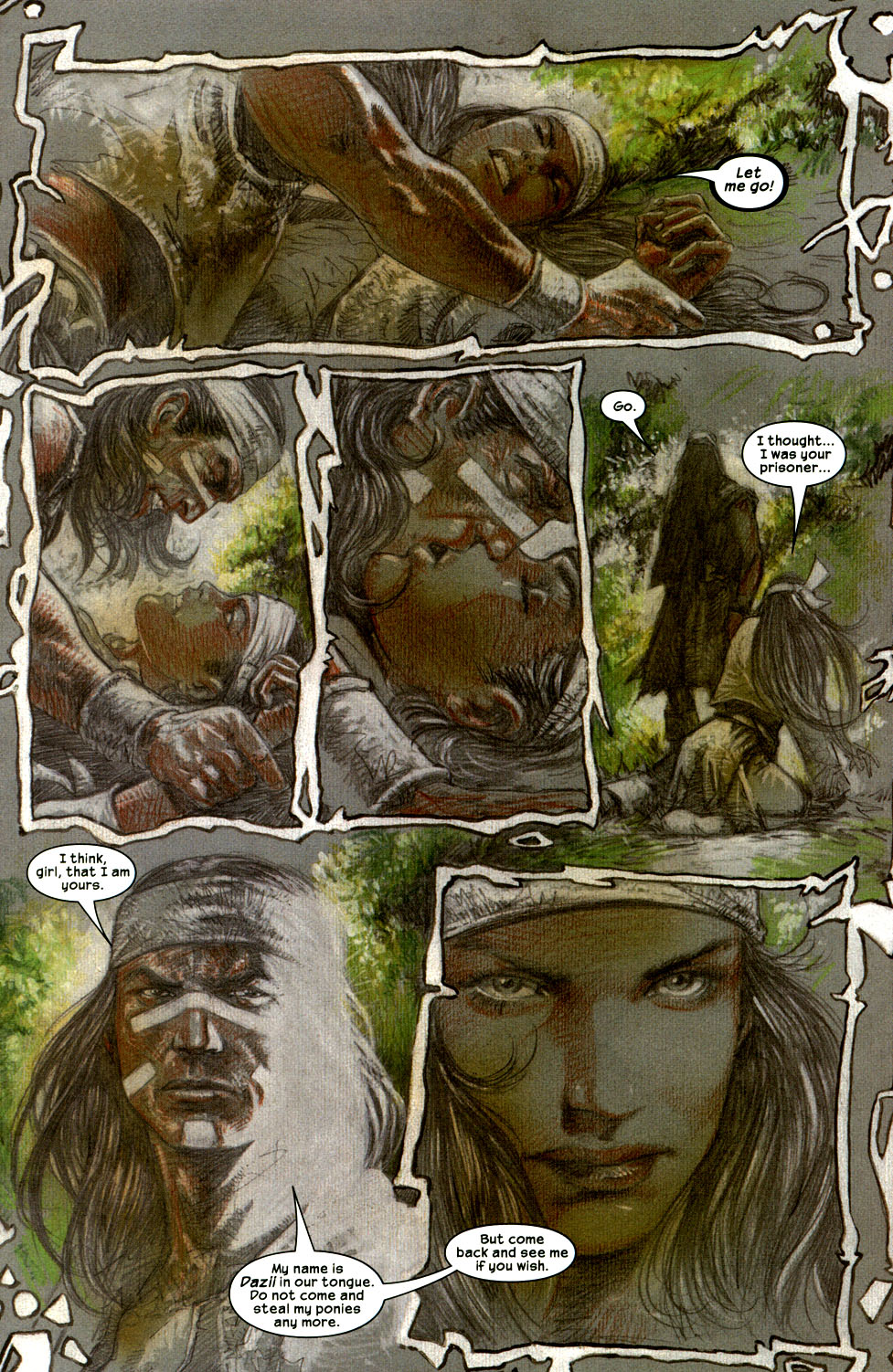 Read online Apache Skies comic -  Issue #2 - 17