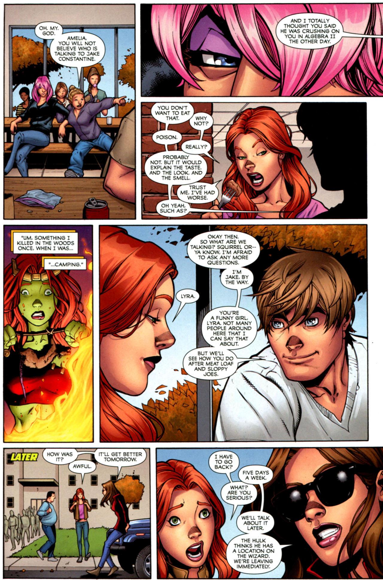 Read online She-Hulks comic -  Issue #1 - 17