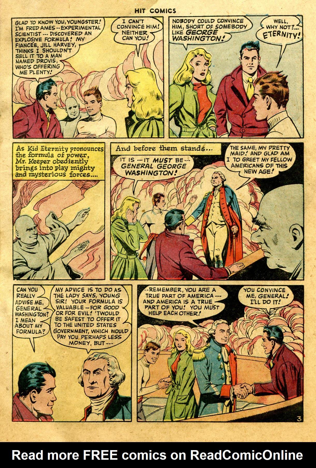 Read online Hit Comics comic -  Issue #44 - 5