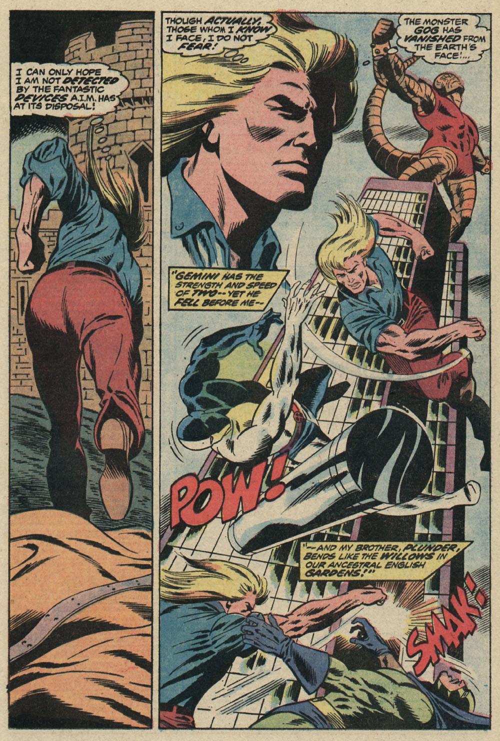 Read online Astonishing Tales (1970) comic -  Issue #19 - 12