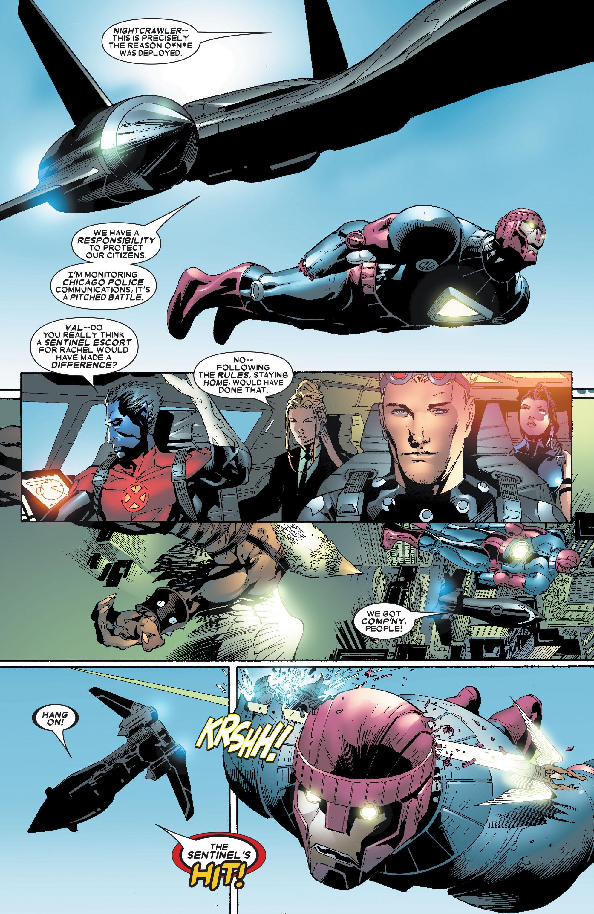 Read online Uncanny X-Men (1963) comic -  Issue #471 - 11