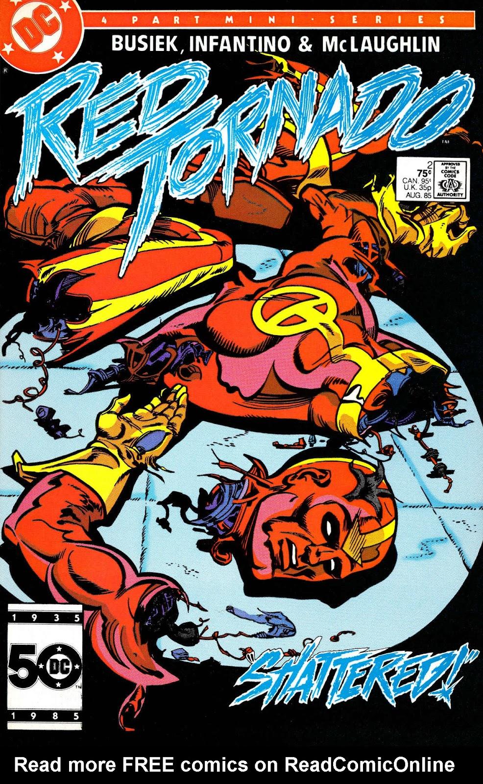 Red Tornado (1985) 2 Page 1
