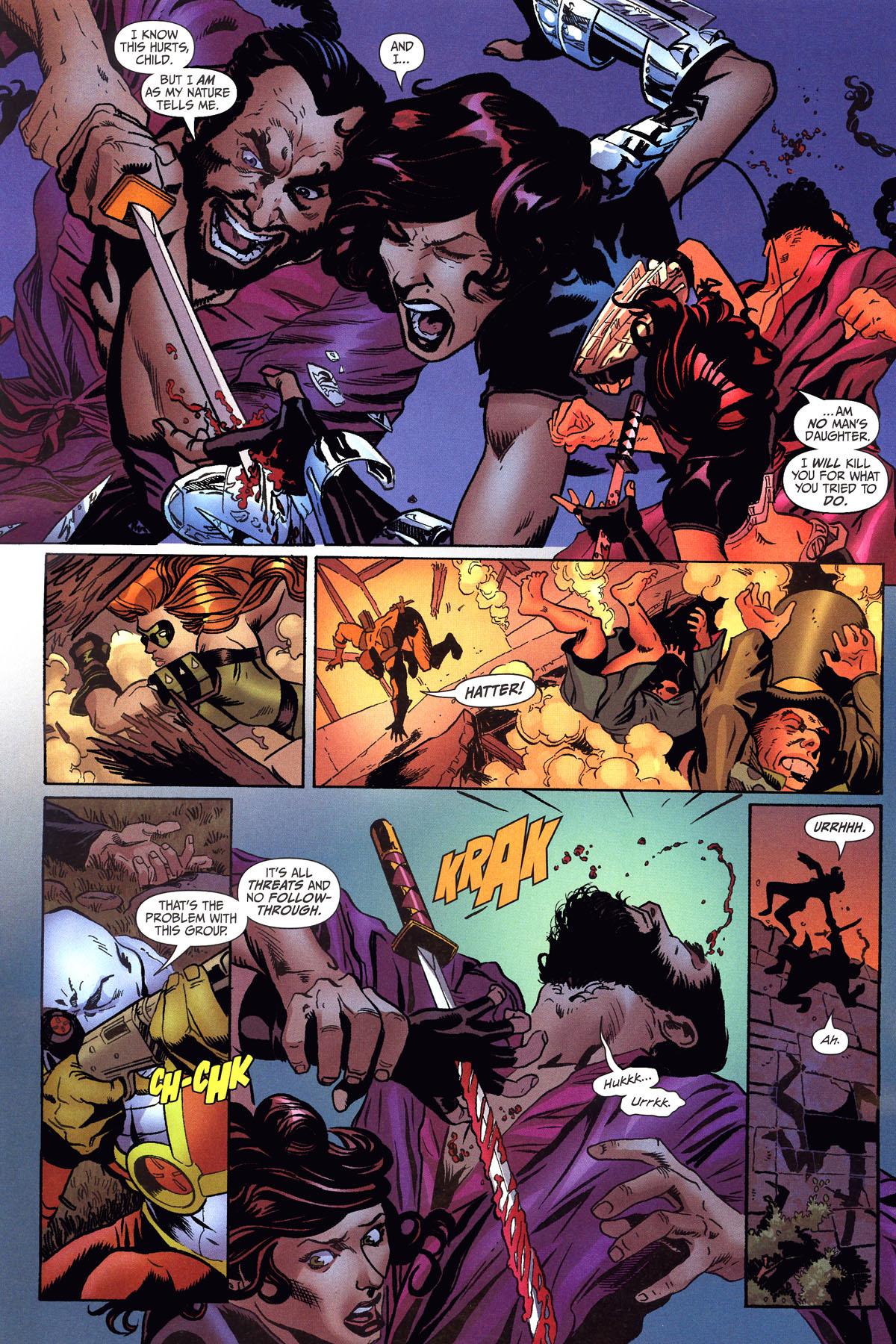 Read online Secret Six (2006) comic -  Issue #6 - 16