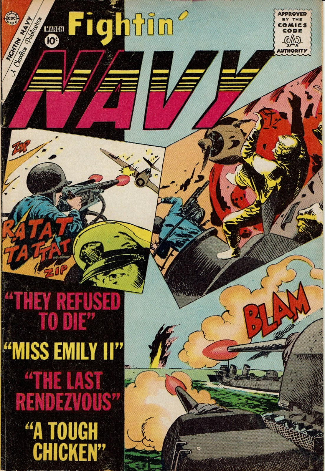 Read online Fightin' Navy comic -  Issue #97 - 1