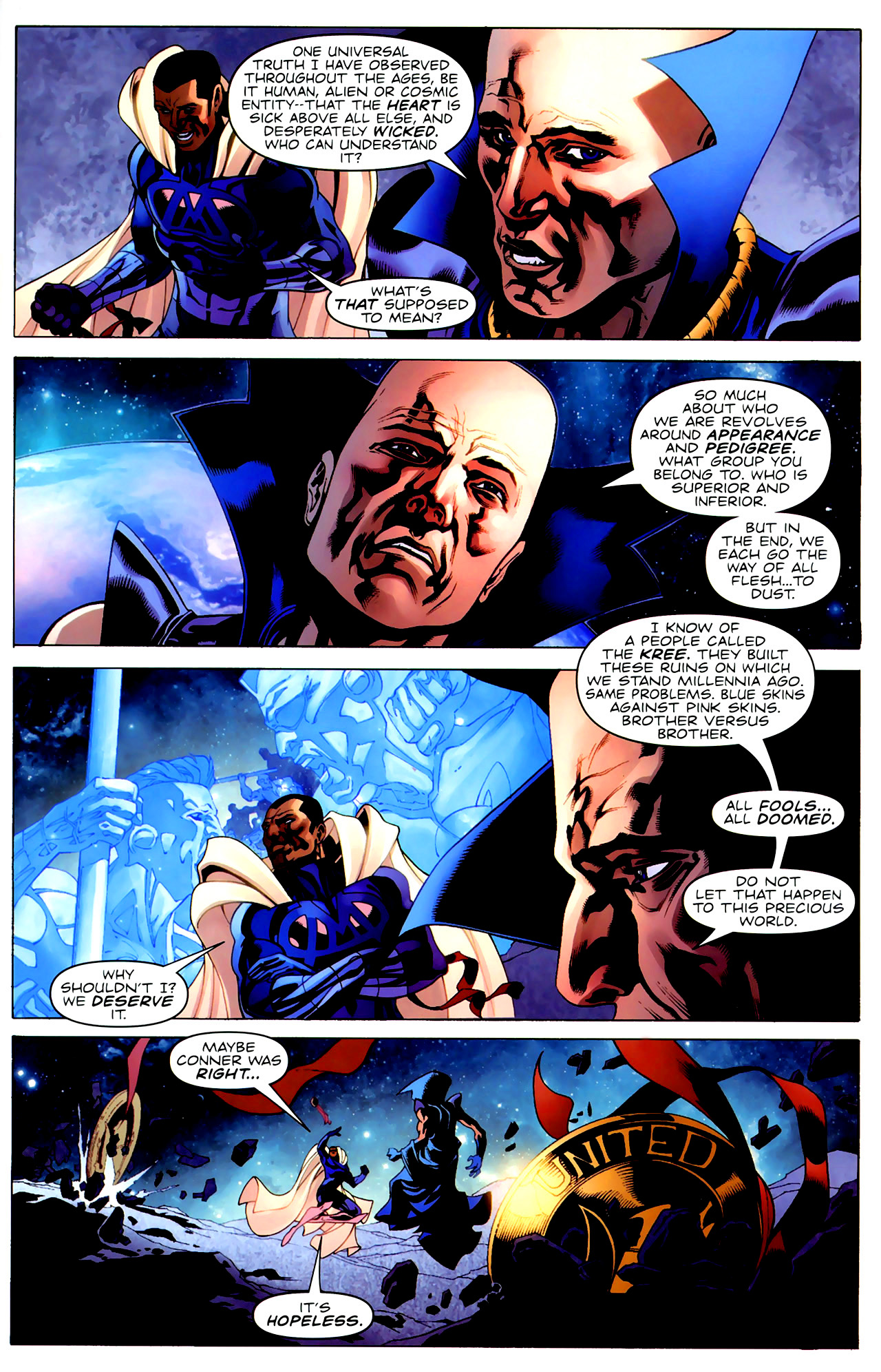 Read online Adam: Legend of the Blue Marvel comic -  Issue #3 - 15