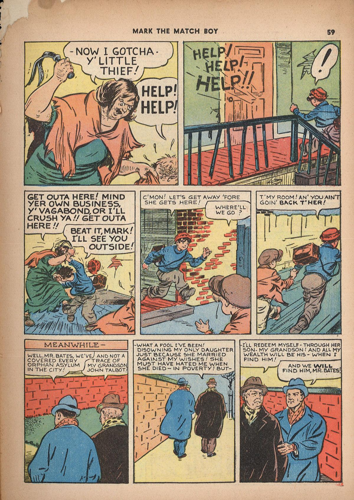 Read online Shadow Comics comic -  Issue #2 - 62
