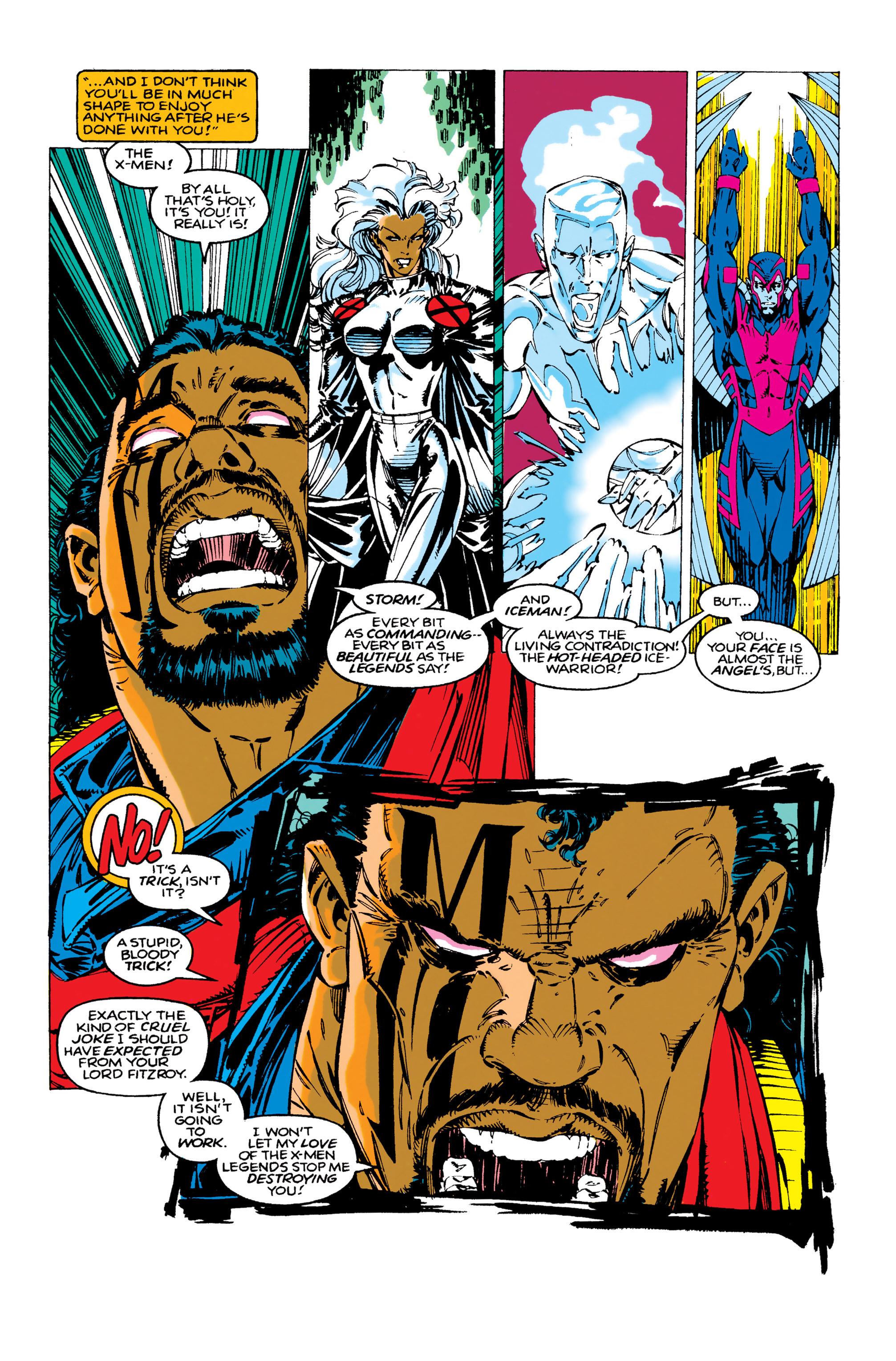 Read online Uncanny X-Men (1963) comic -  Issue #283 - 9