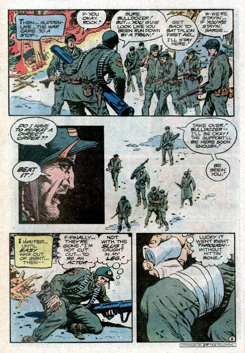 Read online Sgt. Rock comic -  Issue #352 - 11