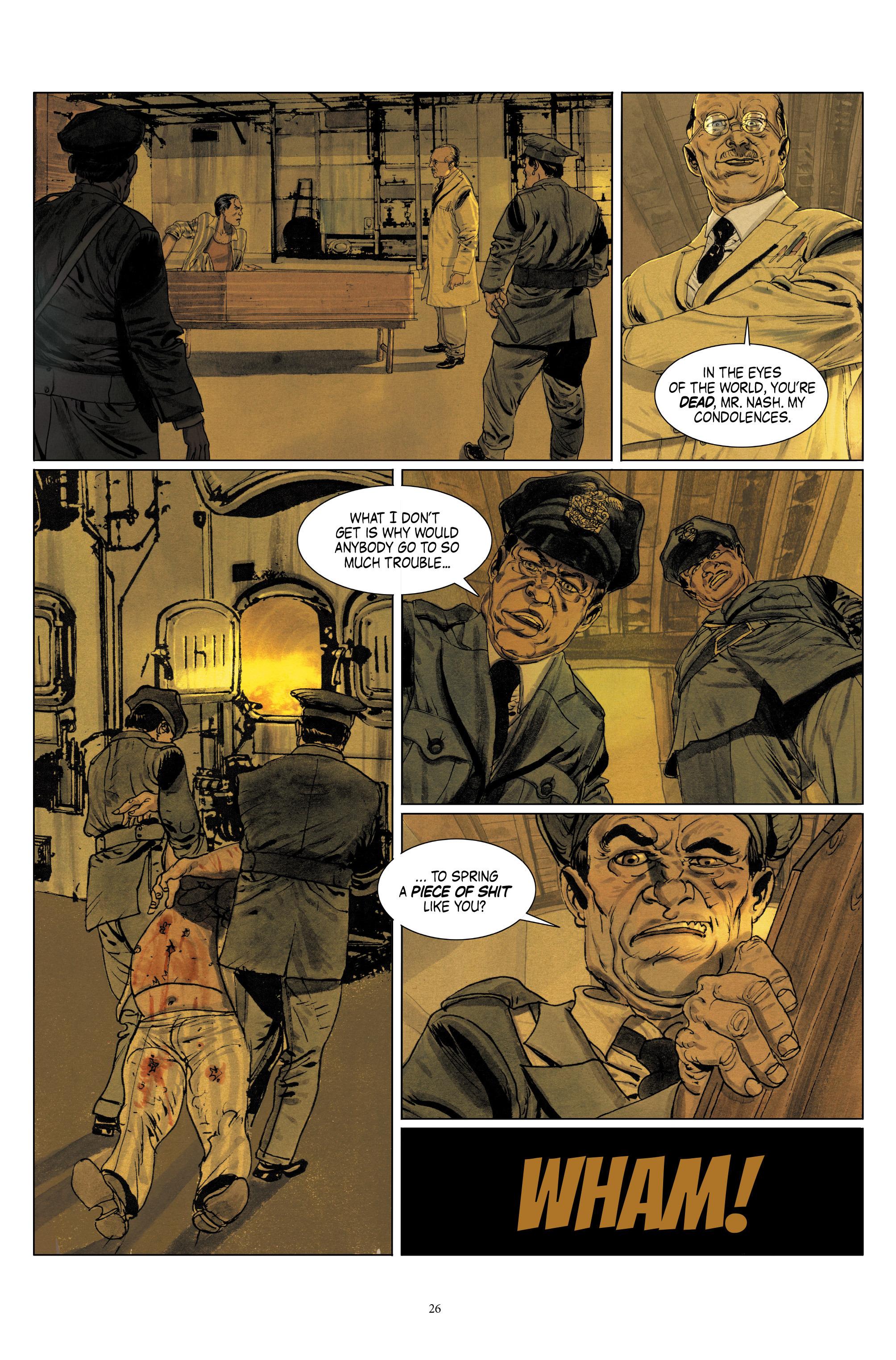 Read online Triggerman comic -  Issue #1 - 31