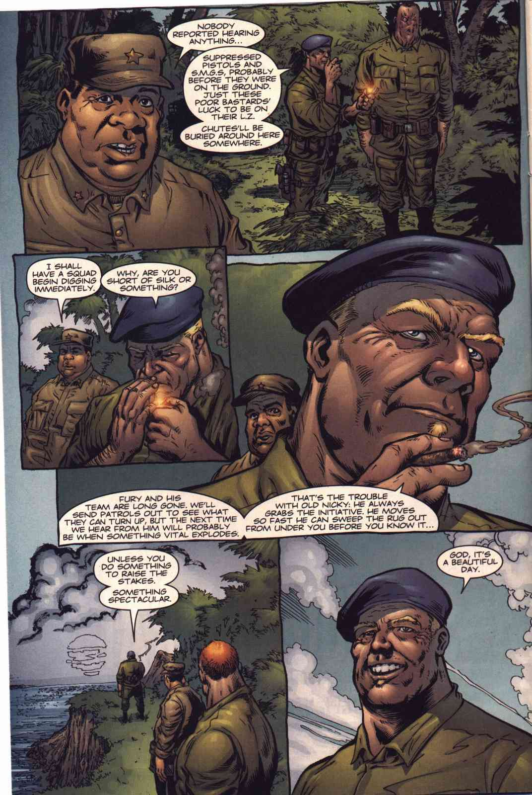 Read online Fury comic -  Issue #4 - 3