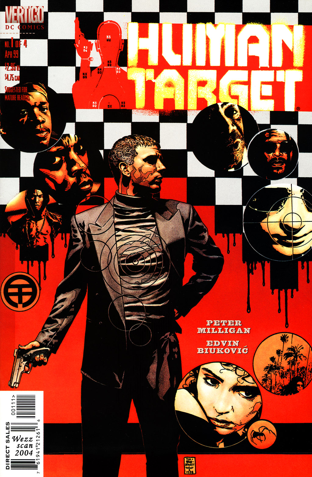 Human Target (1999) issue 1 - Page 1