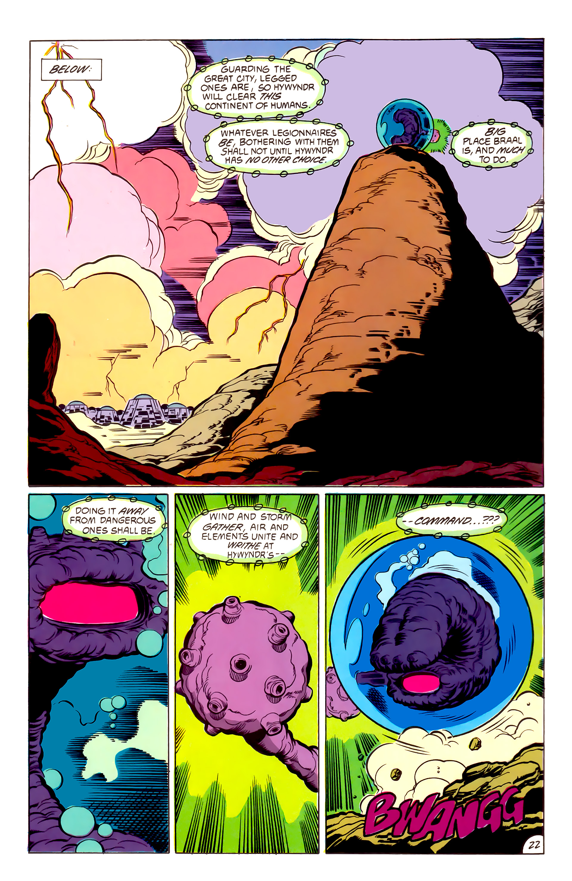 Legion of Super-Heroes (1984) 53 Page 22