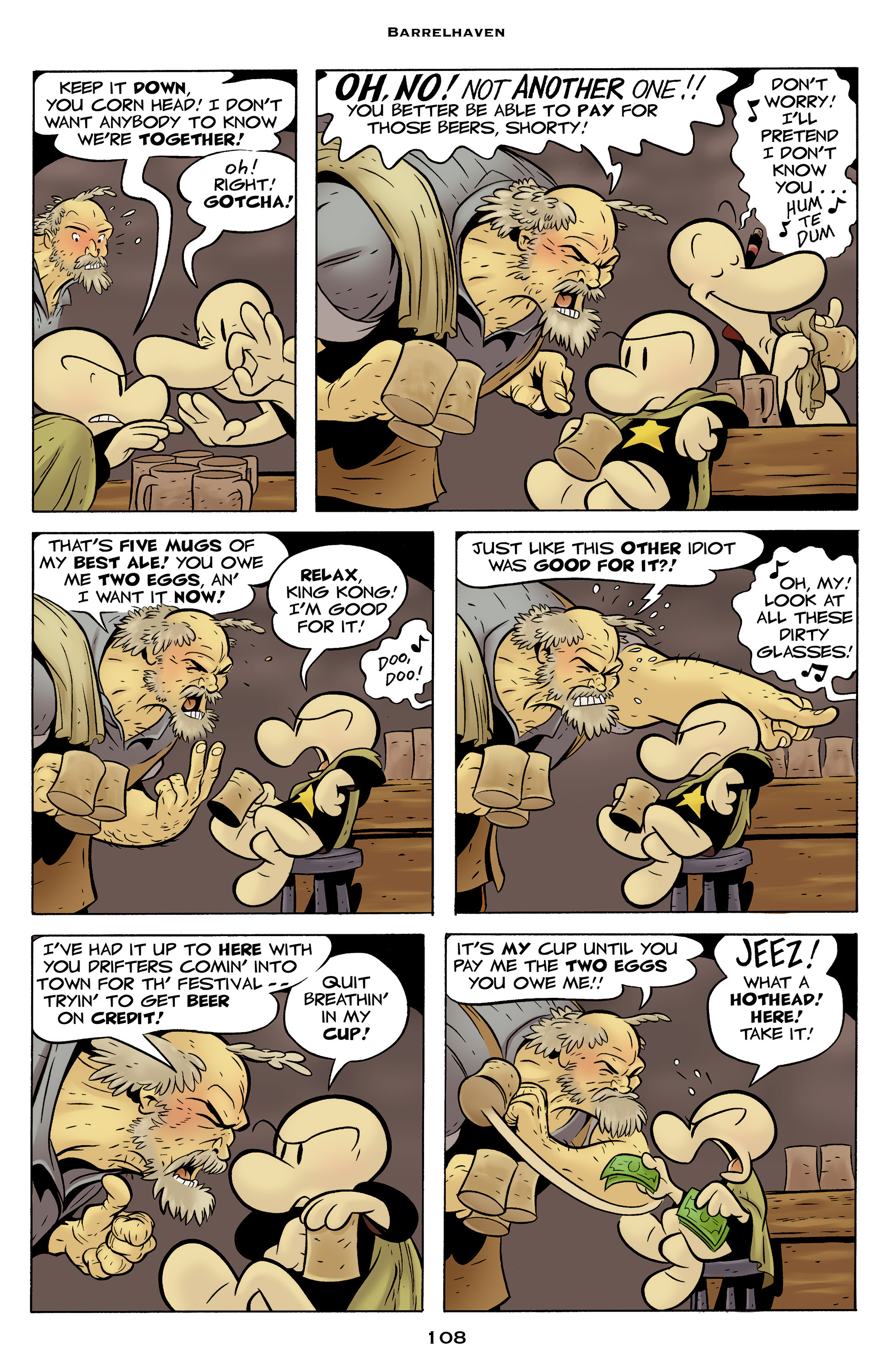 Read online Bone: Out From Boneville comic -  Issue # TPB - 108