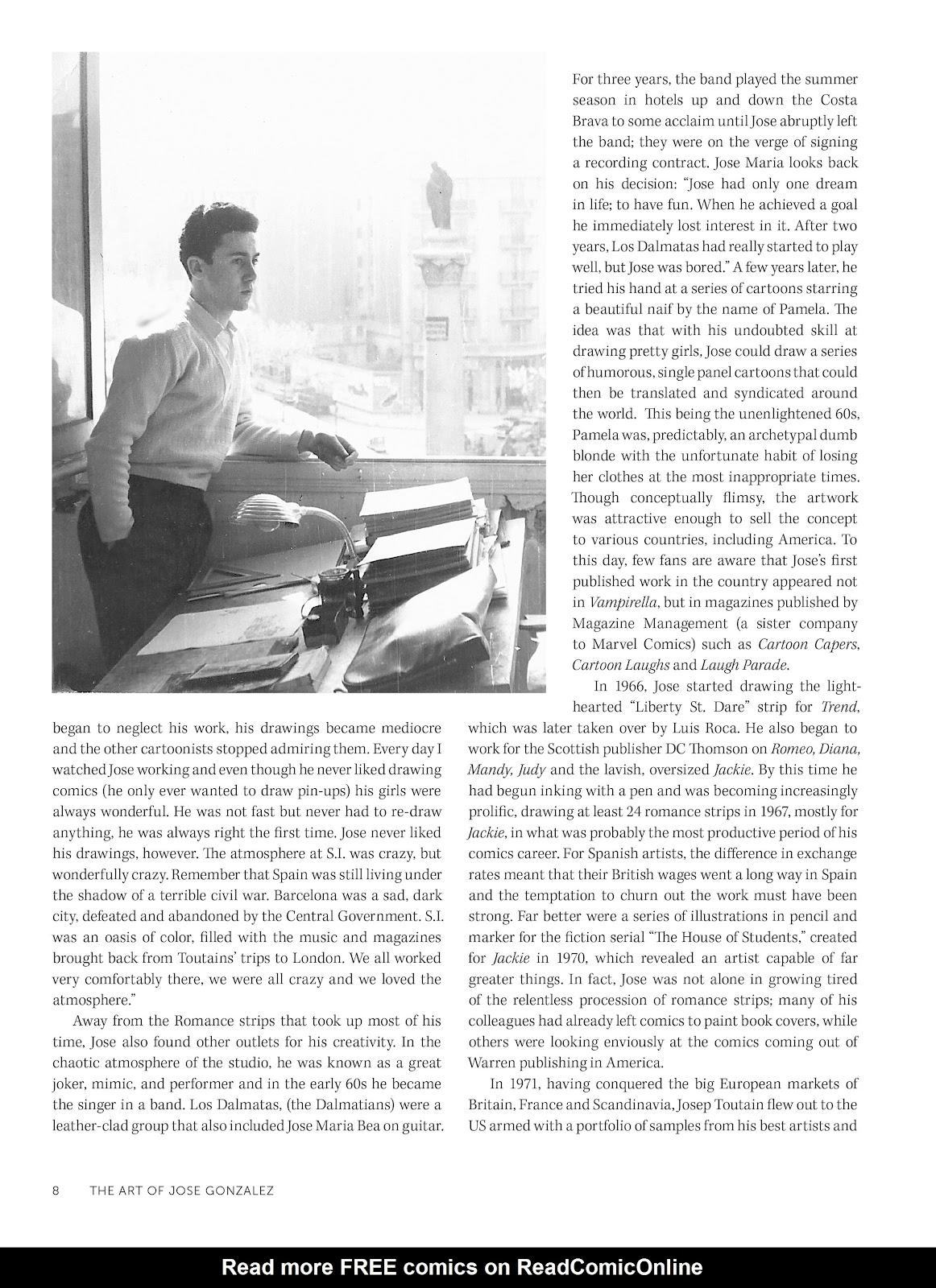 Read online The Art of Jose Gonzalez comic -  Issue # TPB (Part 1) - 9