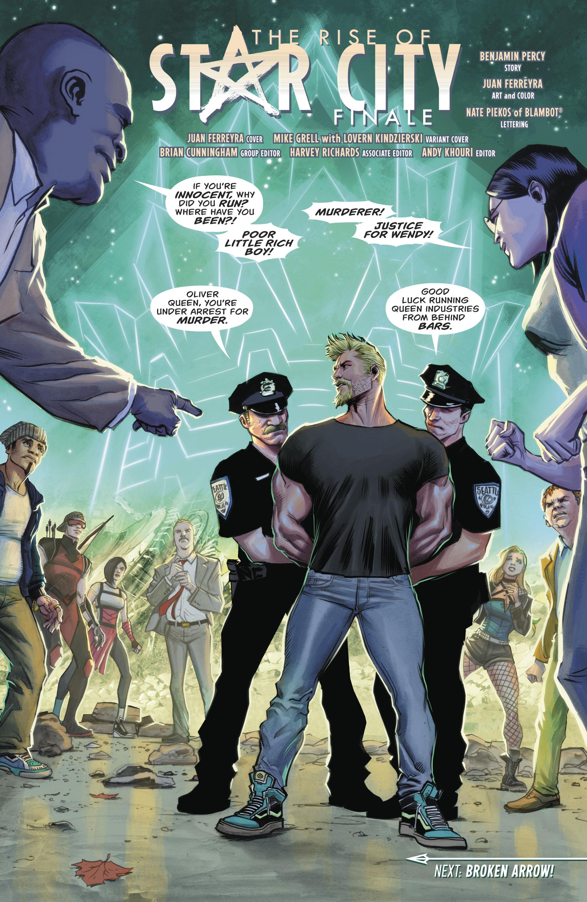 Read online Green Arrow (2016) comic -  Issue #24 - 15