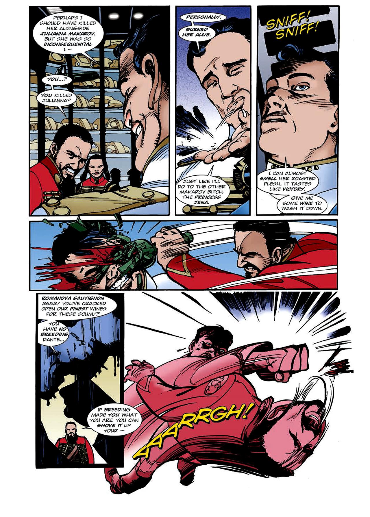 Read online Nikolai Dante comic -  Issue # TPB 4 - 112