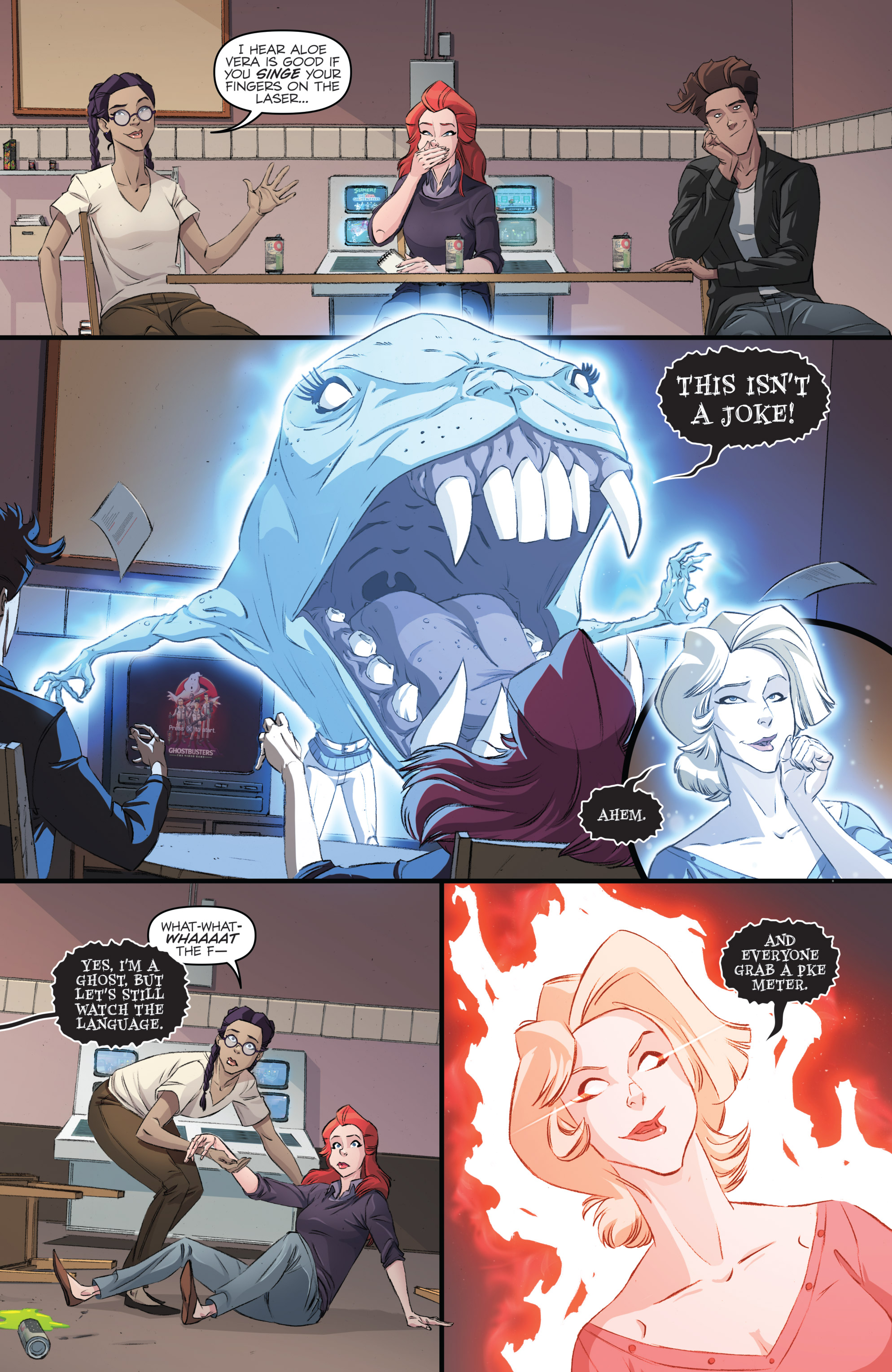 Read online Ghostbusters 101 comic -  Issue #2 - 17
