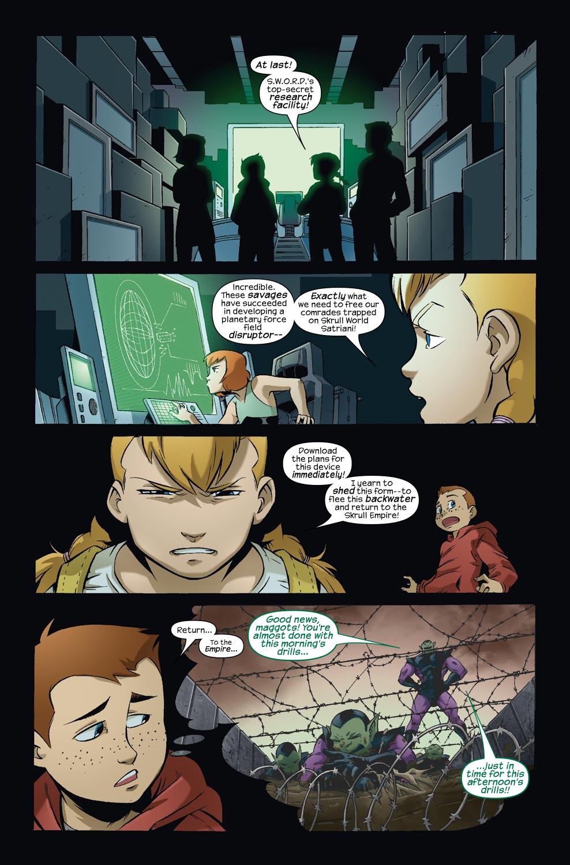 Read online Skrulls vs. Power Pack comic -  Issue #3 - 17