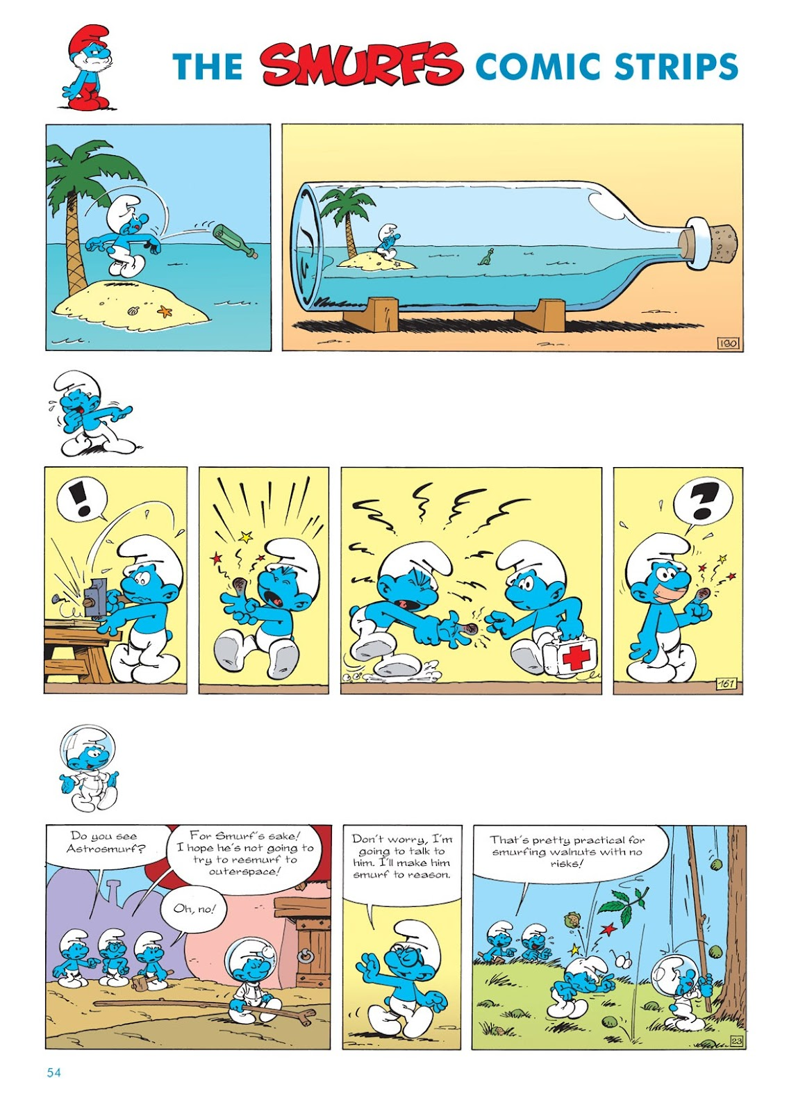 Read online The Smurfs comic -  Issue #7 - 54
