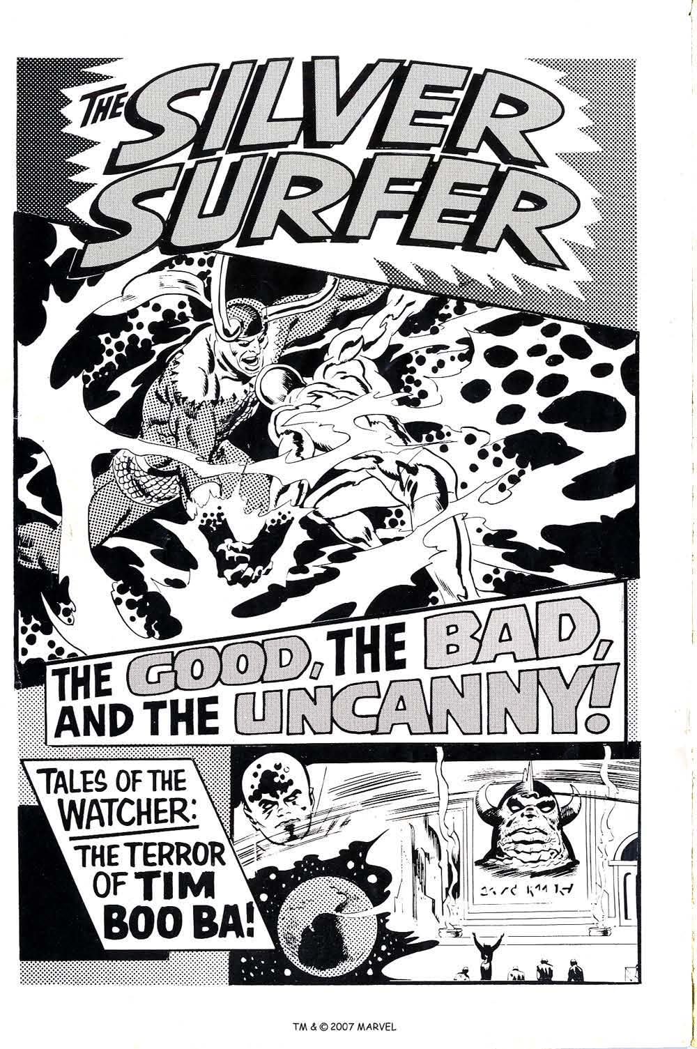 Read online Silver Surfer (1968) comic -  Issue #4 - 2