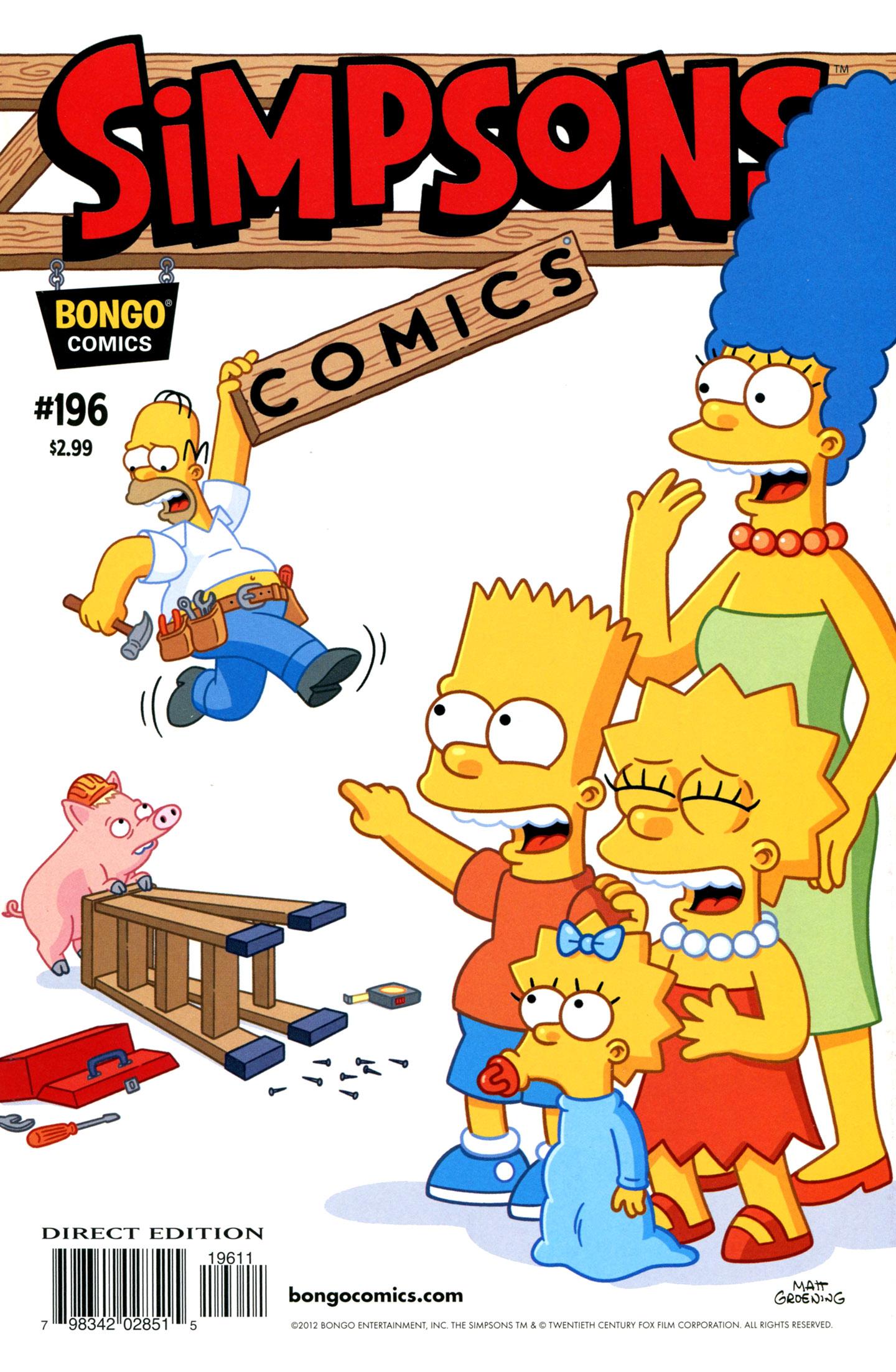 Simpsons Comics 196 Page 1