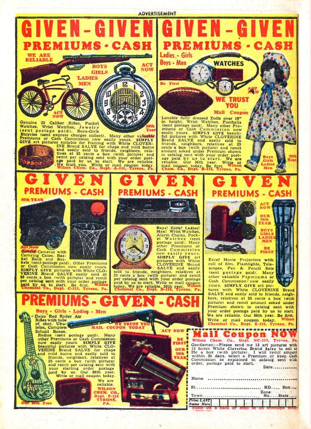 Read online Wonder Woman (1942) comic -  Issue #45 - 50