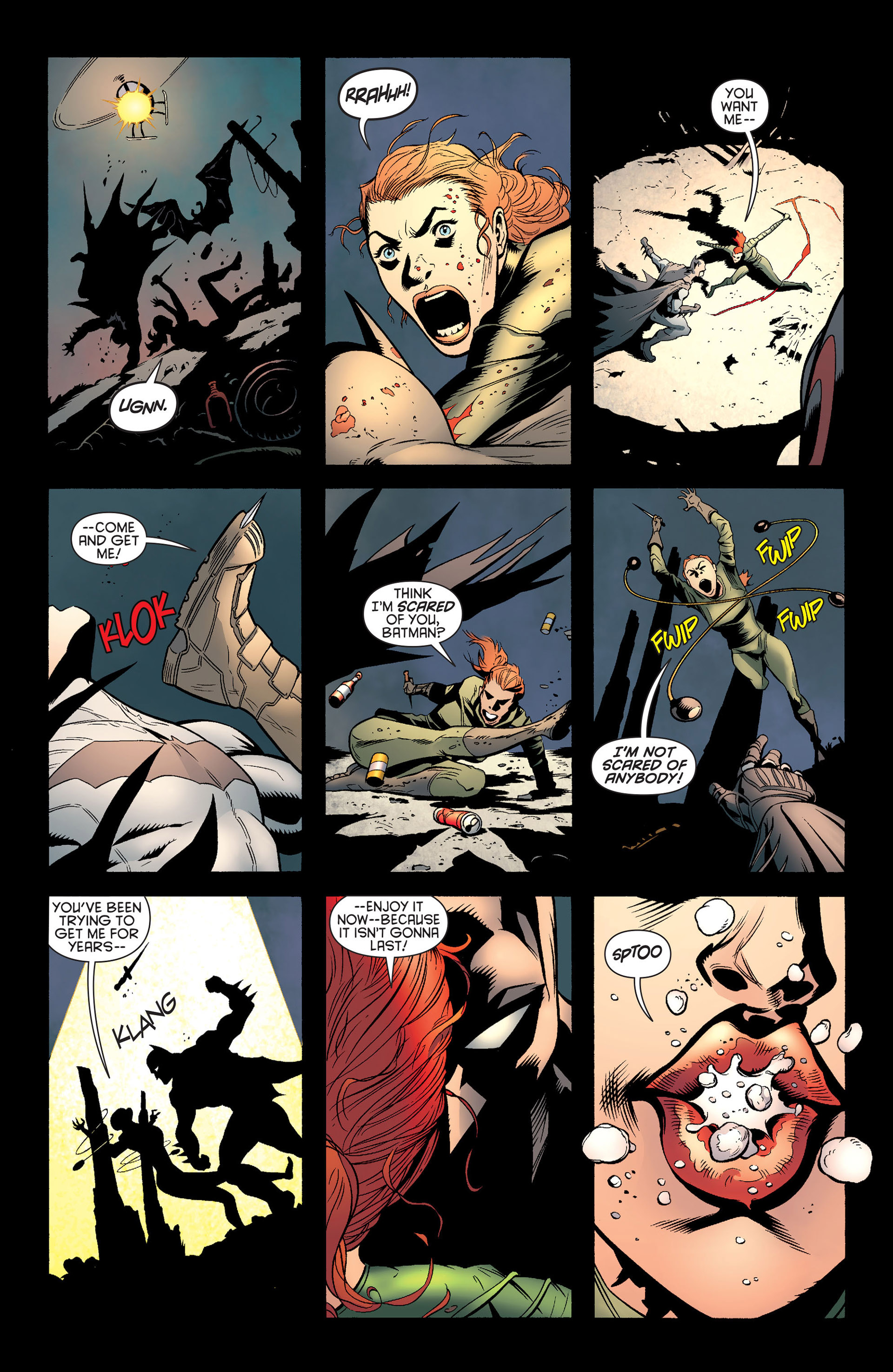 Read online Batman and Robin (2011) comic -  Issue #24 - Batman and Two-Face - 22