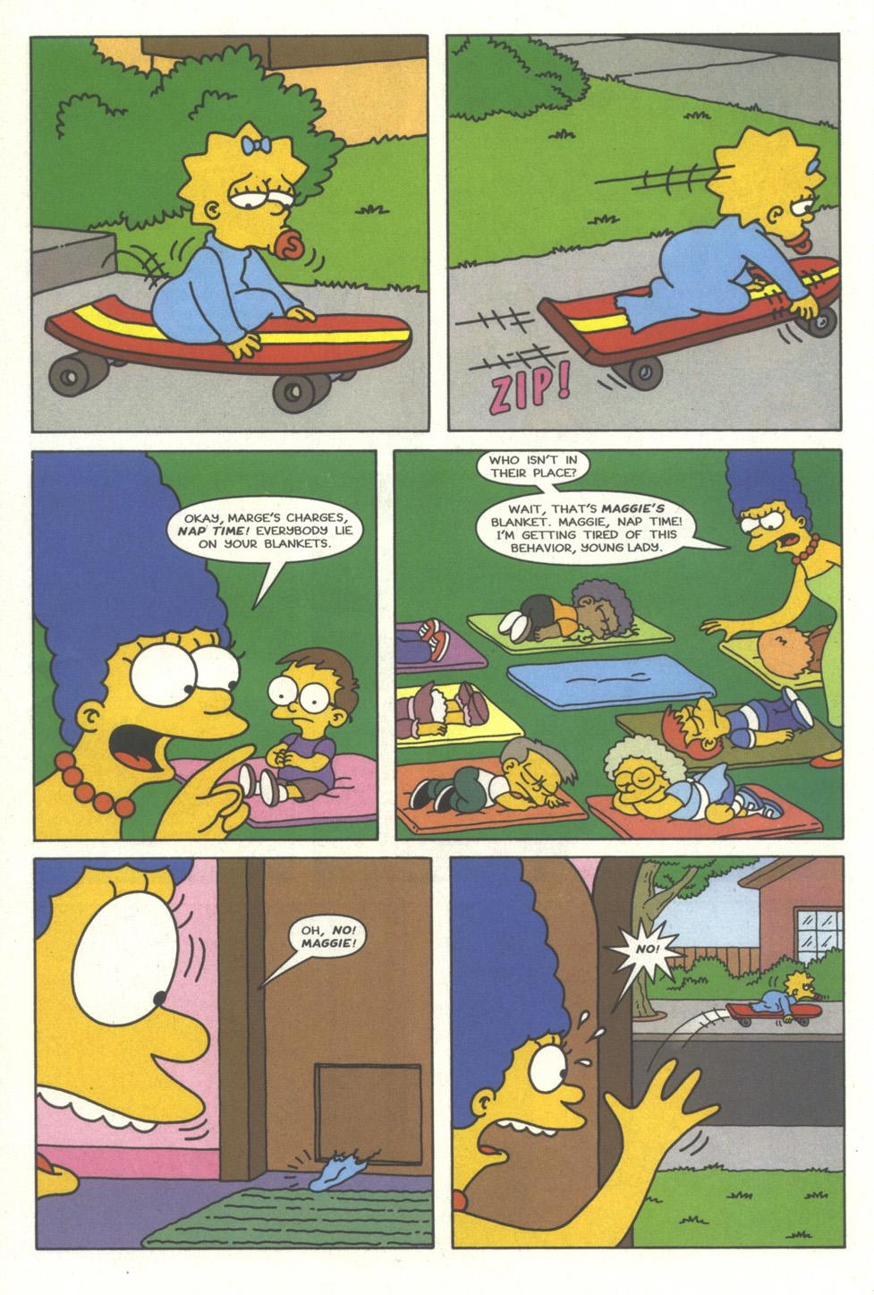 Read online Simpsons Comics comic -  Issue #35 - 13