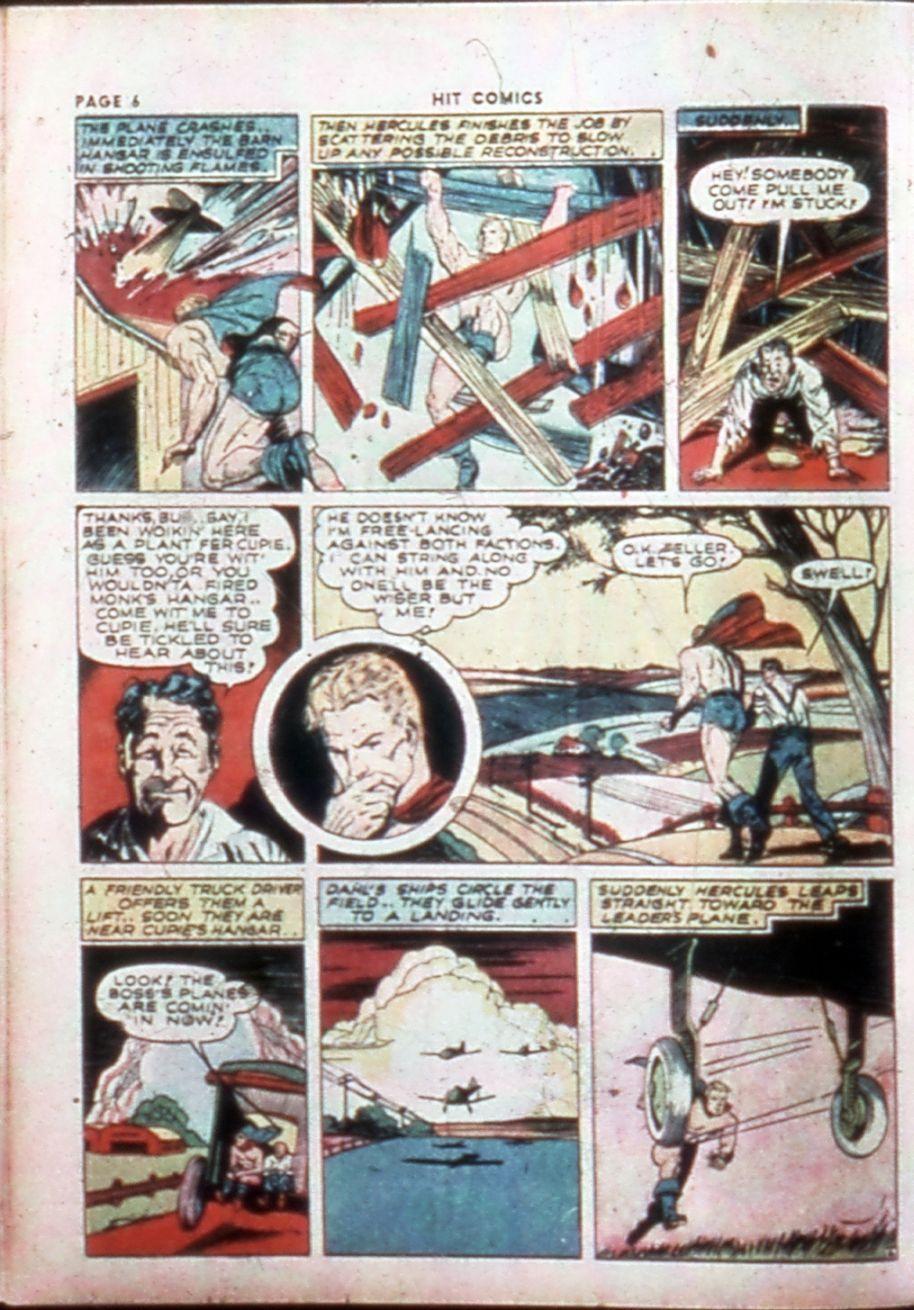 Read online Hit Comics comic -  Issue #14 - 8