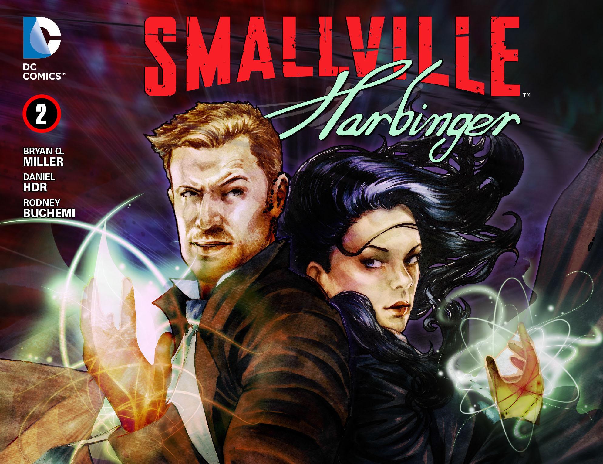 Read online Smallville: Harbinger comic -  Issue #2 - 1