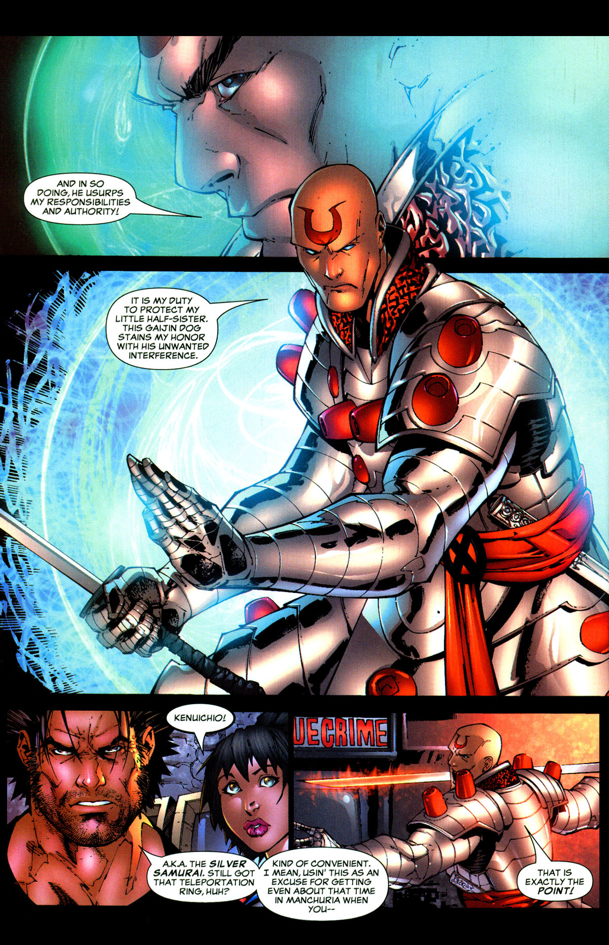Read online X-Men: Age of Apocalypse One-Shot comic -  Issue # Full - 22