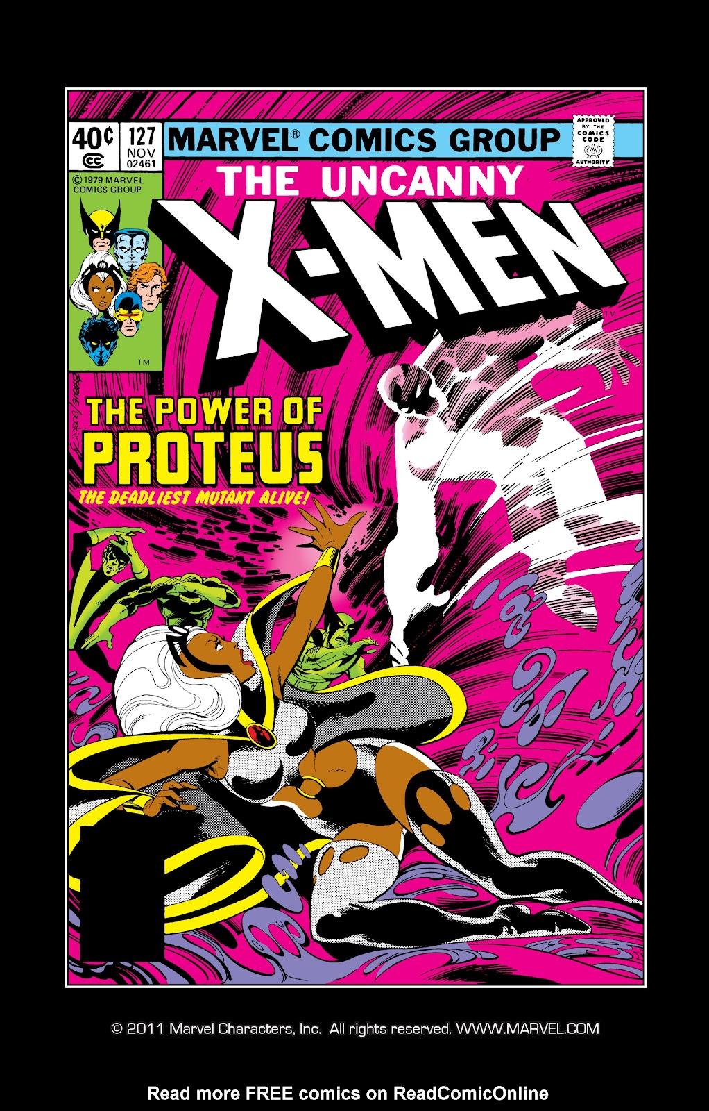Uncanny X-Men (1963) 127 Page 1