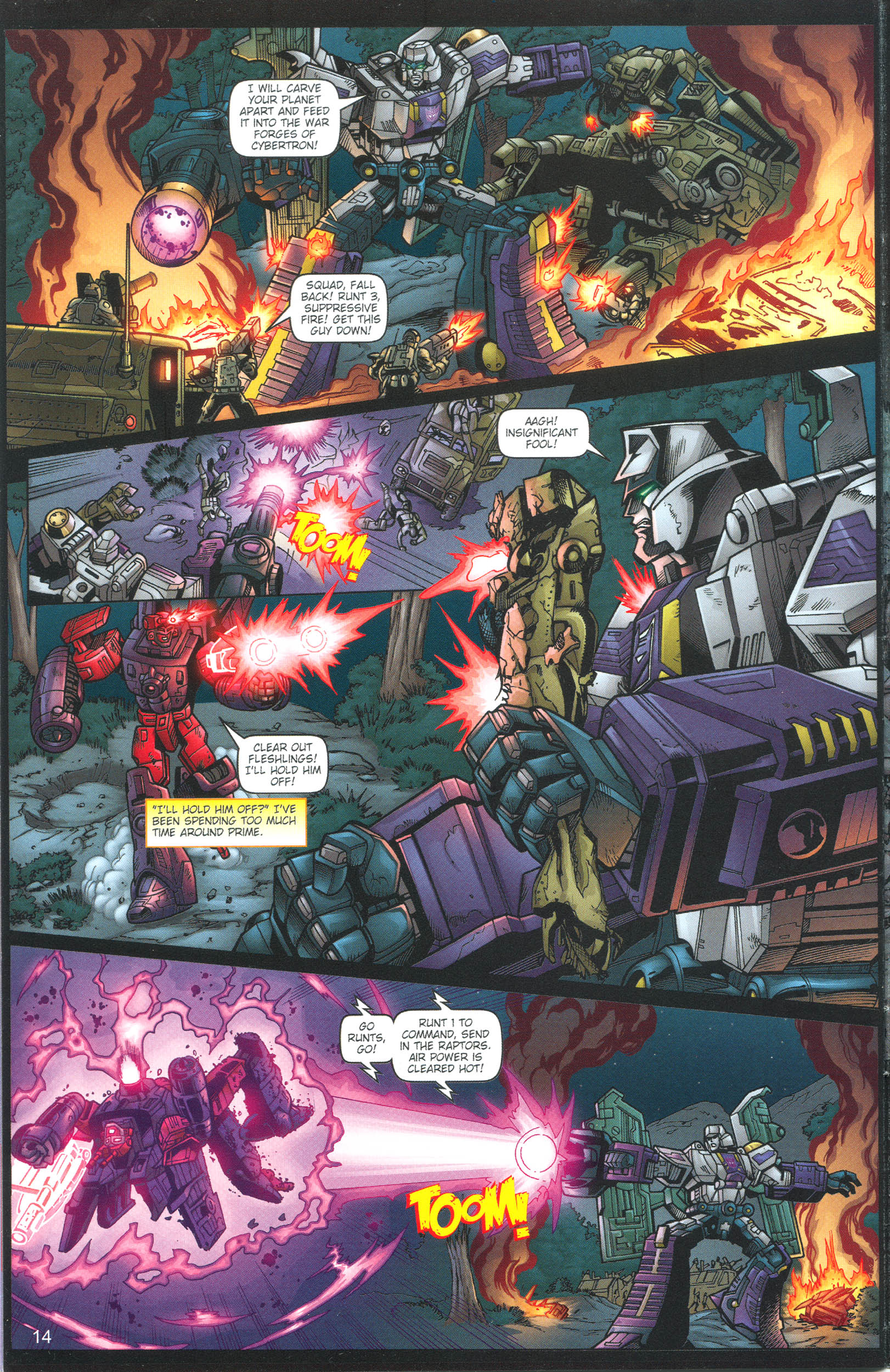 Read online Transformers: Collectors' Club comic -  Issue #13 - 14