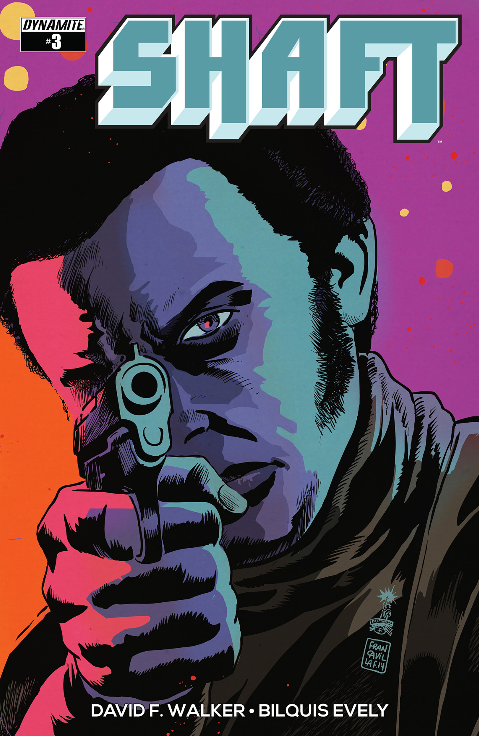 Read online Shaft comic -  Issue #3 - 2