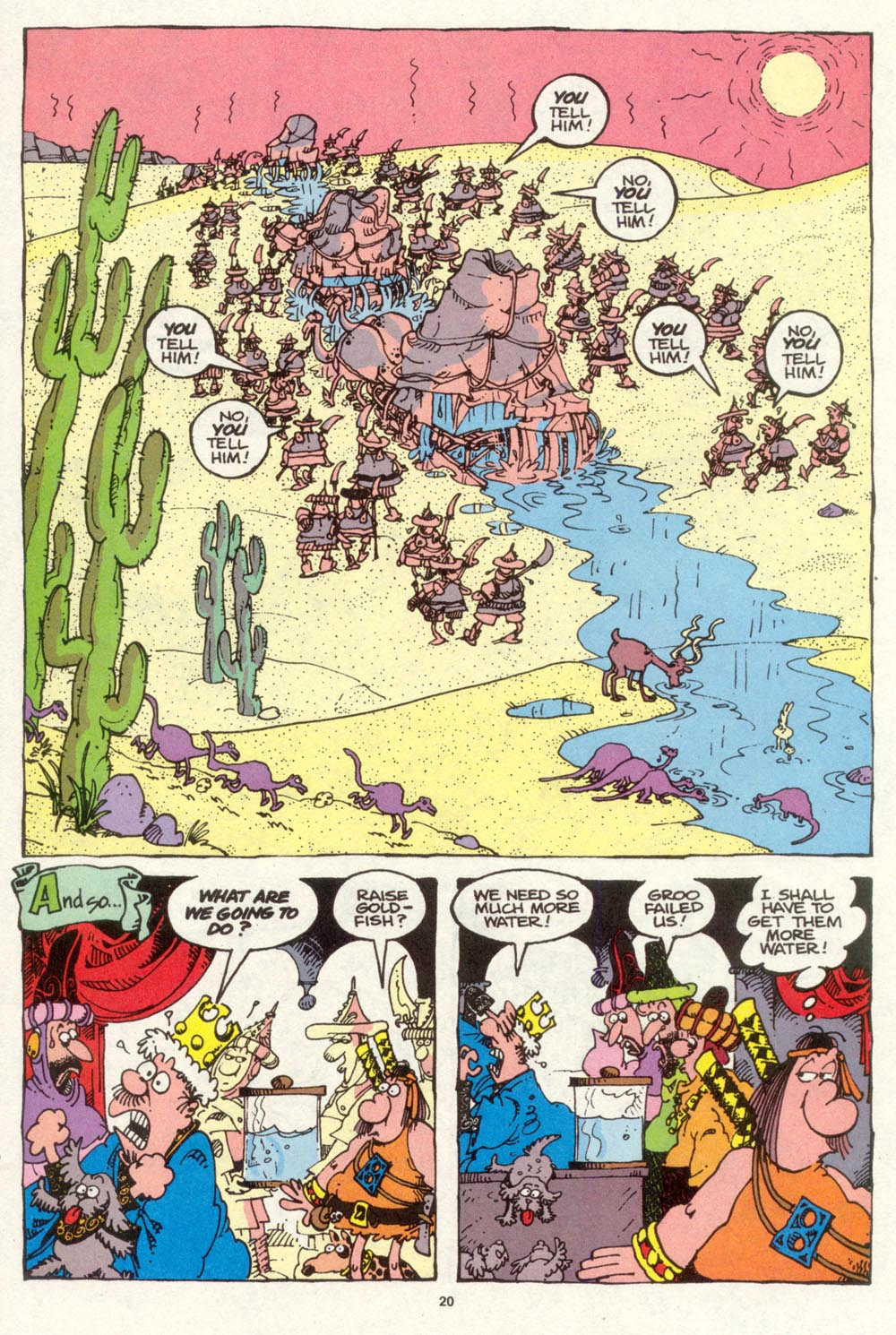 Read online Sergio Aragonés Groo the Wanderer comic -  Issue #94 - 21