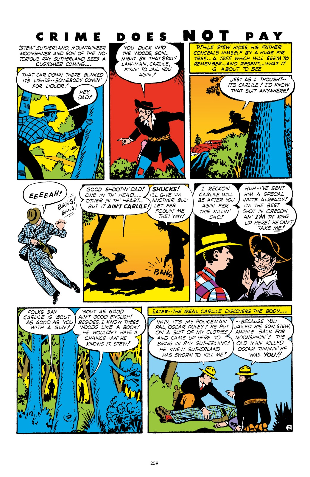 Read online Crime Does Not Pay Archives comic -  Issue # TPB 1 (Part 3) - 62