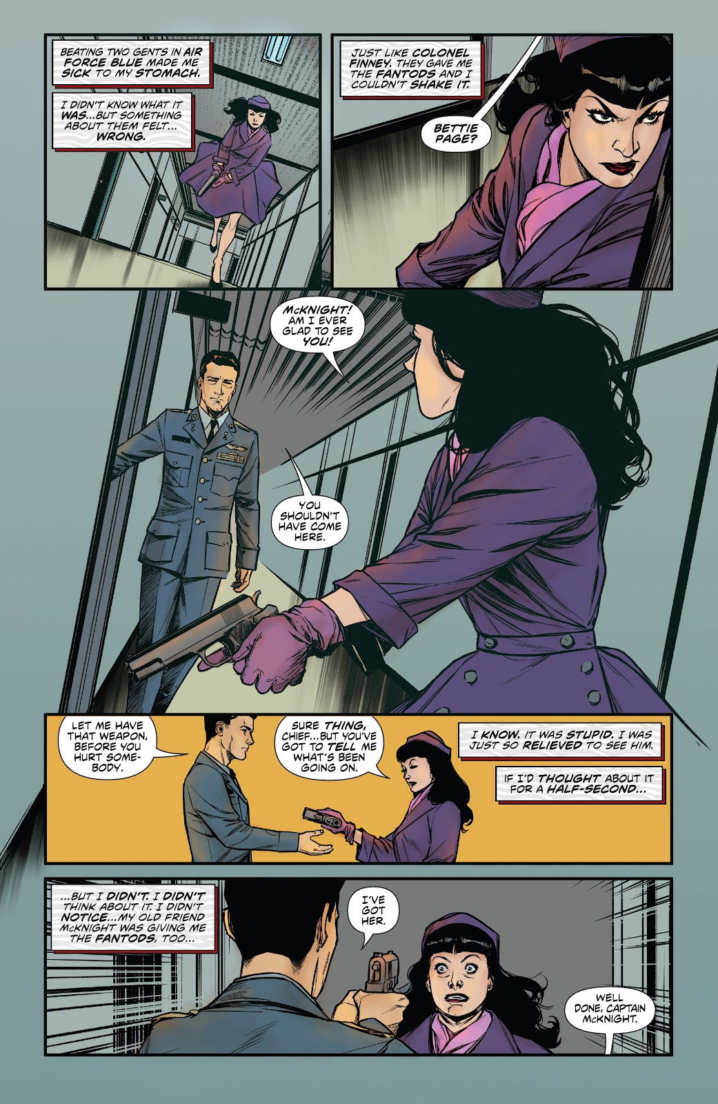 Read online Bettie Page: Unbound comic -  Issue #6 - 23