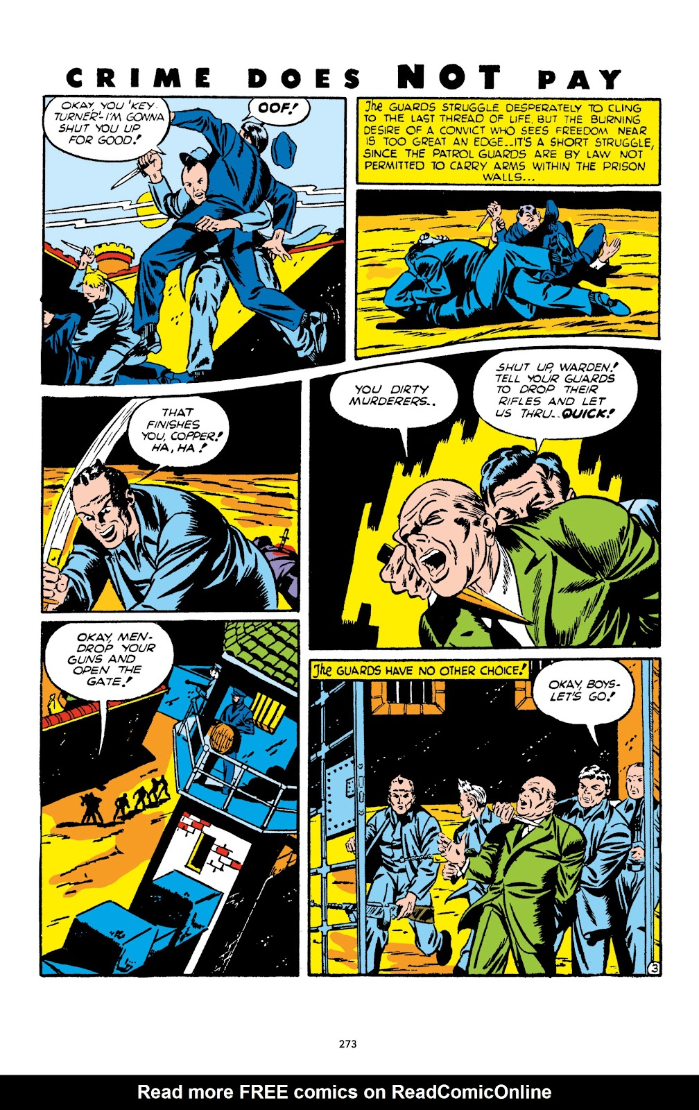 Read online Crime Does Not Pay Archives comic -  Issue # TPB 1 (Part 3) - 76