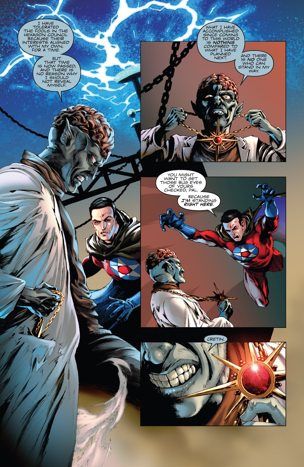Read online Codename: Action comic -  Issue #5 - 5