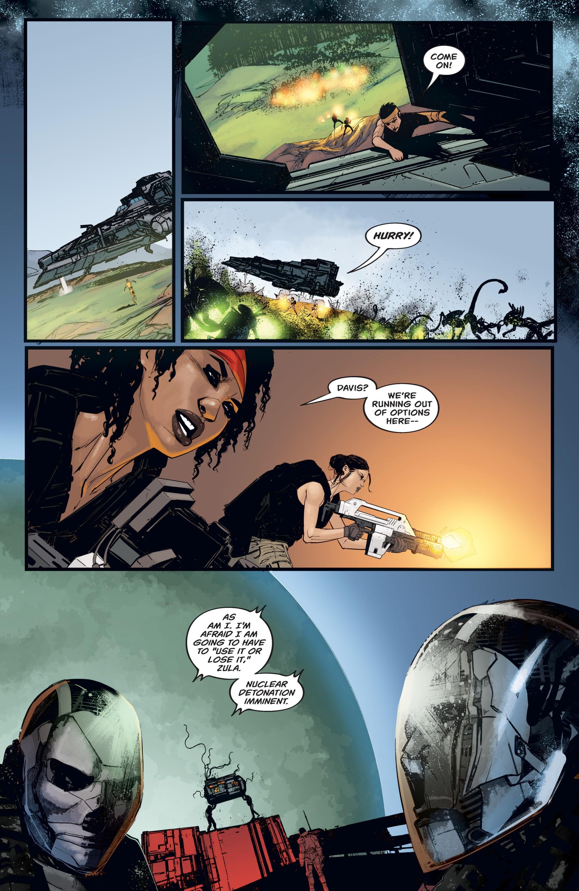 Read online Aliens: Resistance comic -  Issue # _TPB - 87