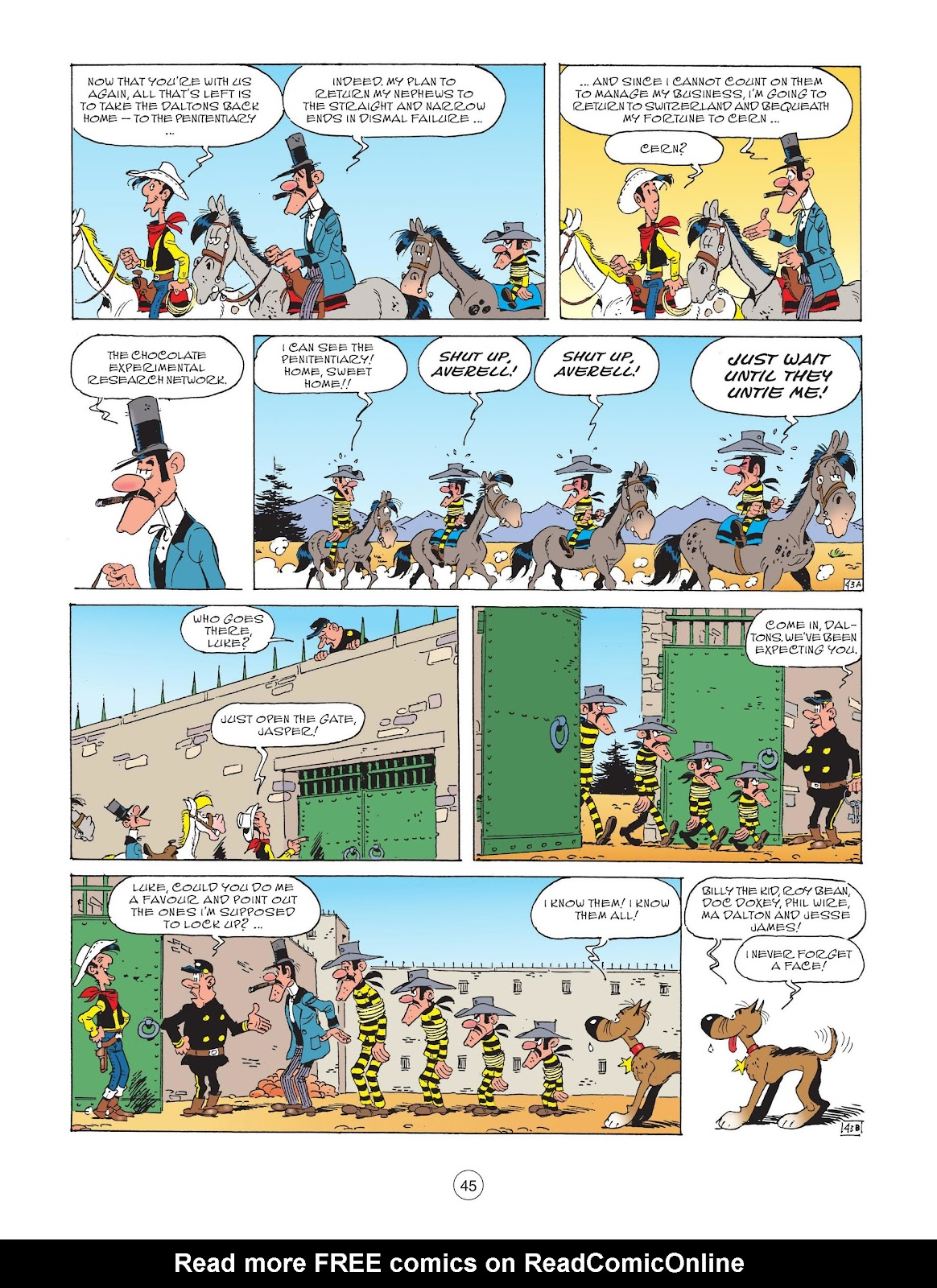 A Lucky Luke Adventure issue 72 - Page 47