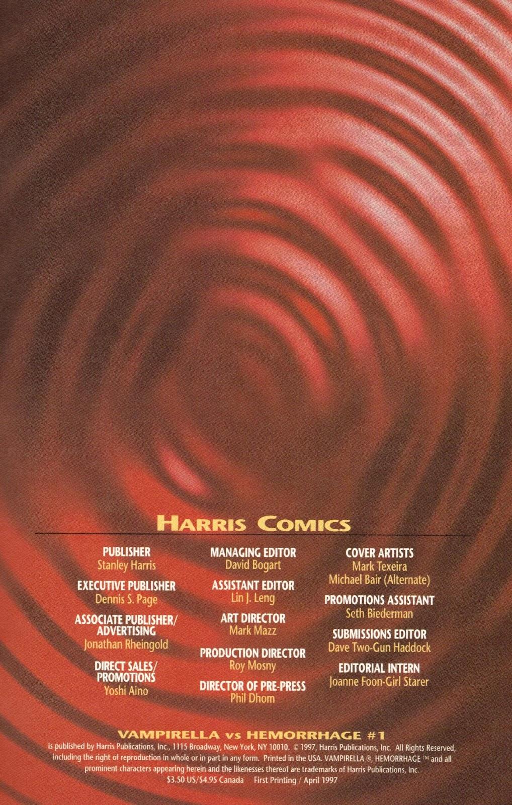 Vampirella vs Hemorrhage issue 1 - Page 33