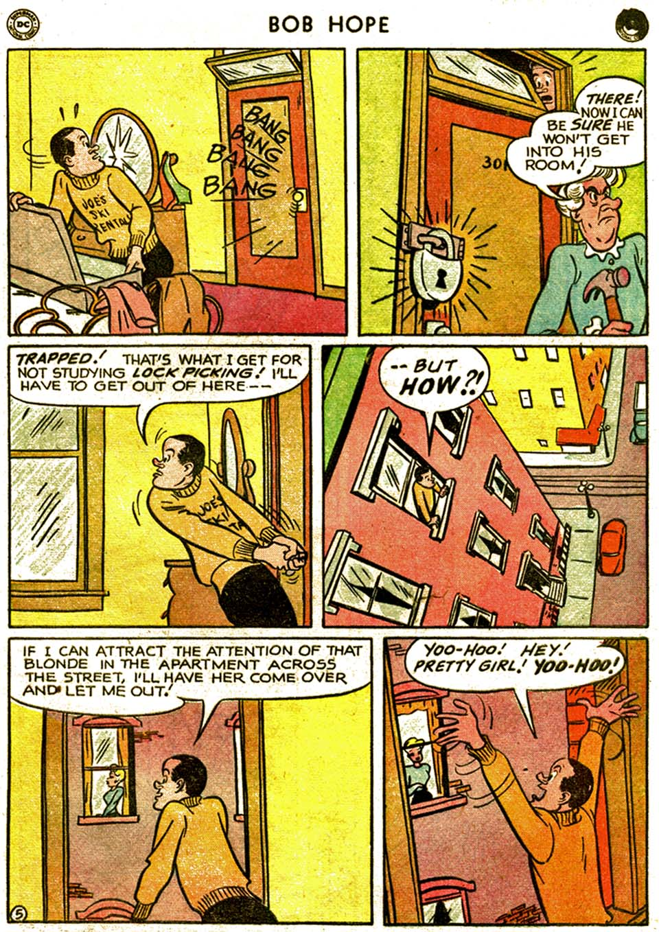 The Adventures of Bob Hope issue 1 - Page 41