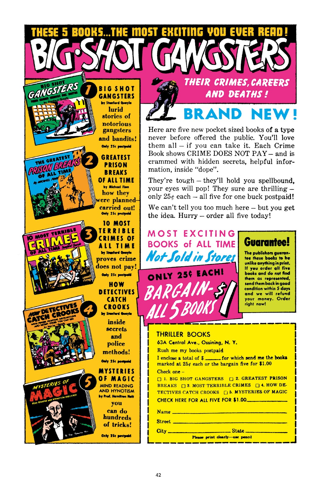Read online Crime Does Not Pay Archives comic -  Issue # TPB 10 (Part 1) - 44
