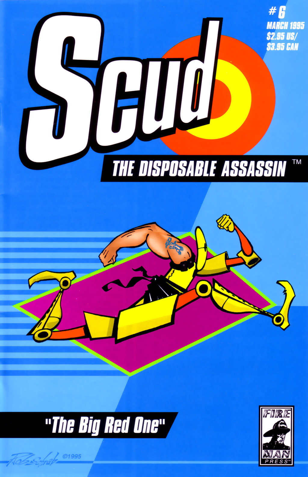 Read online Scud: The Disposable Assassin (1994) comic -  Issue #6 - 1