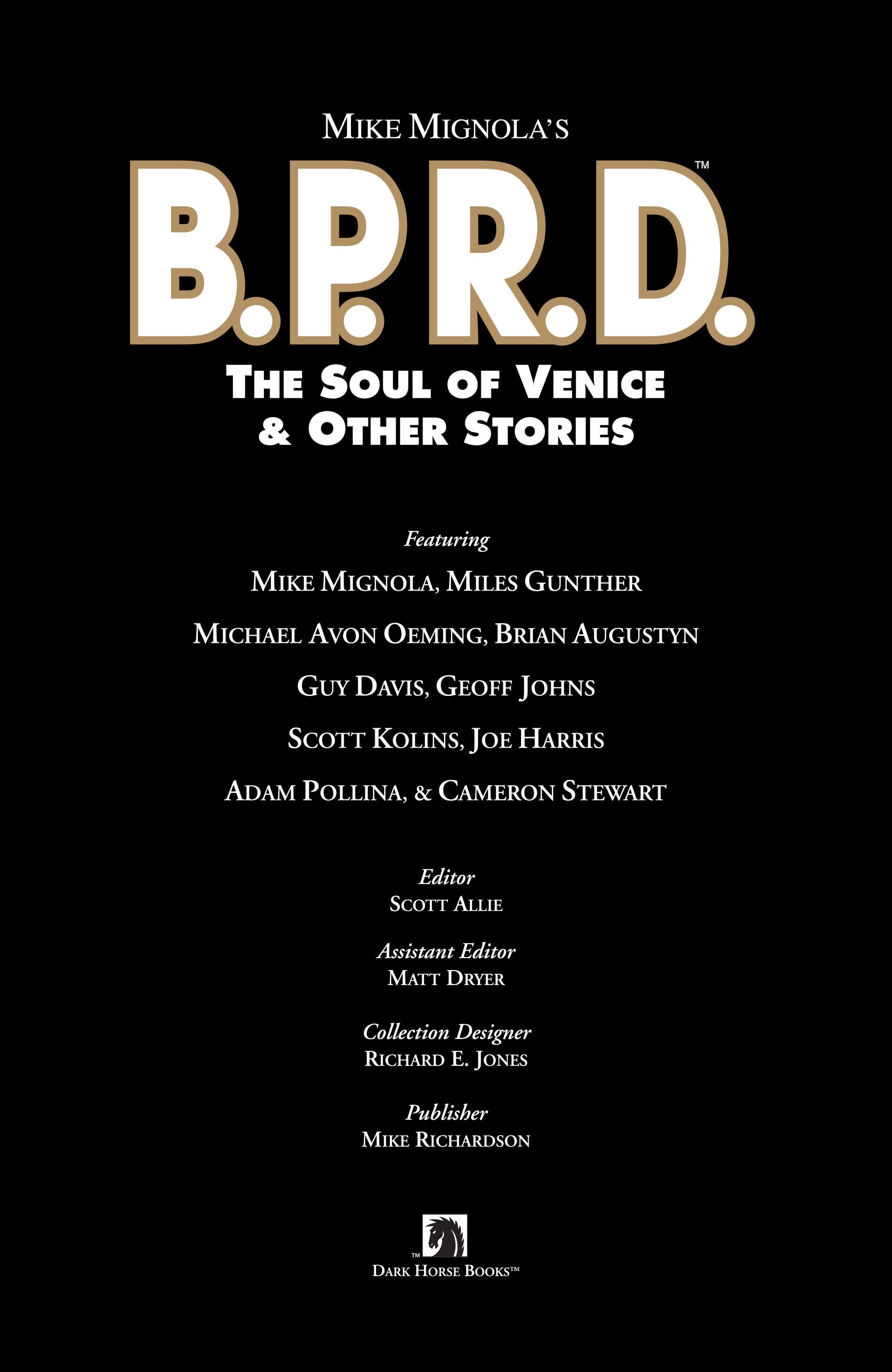 Read online B.P.R.D. (2003) comic -  Issue # TPB 2 - 4